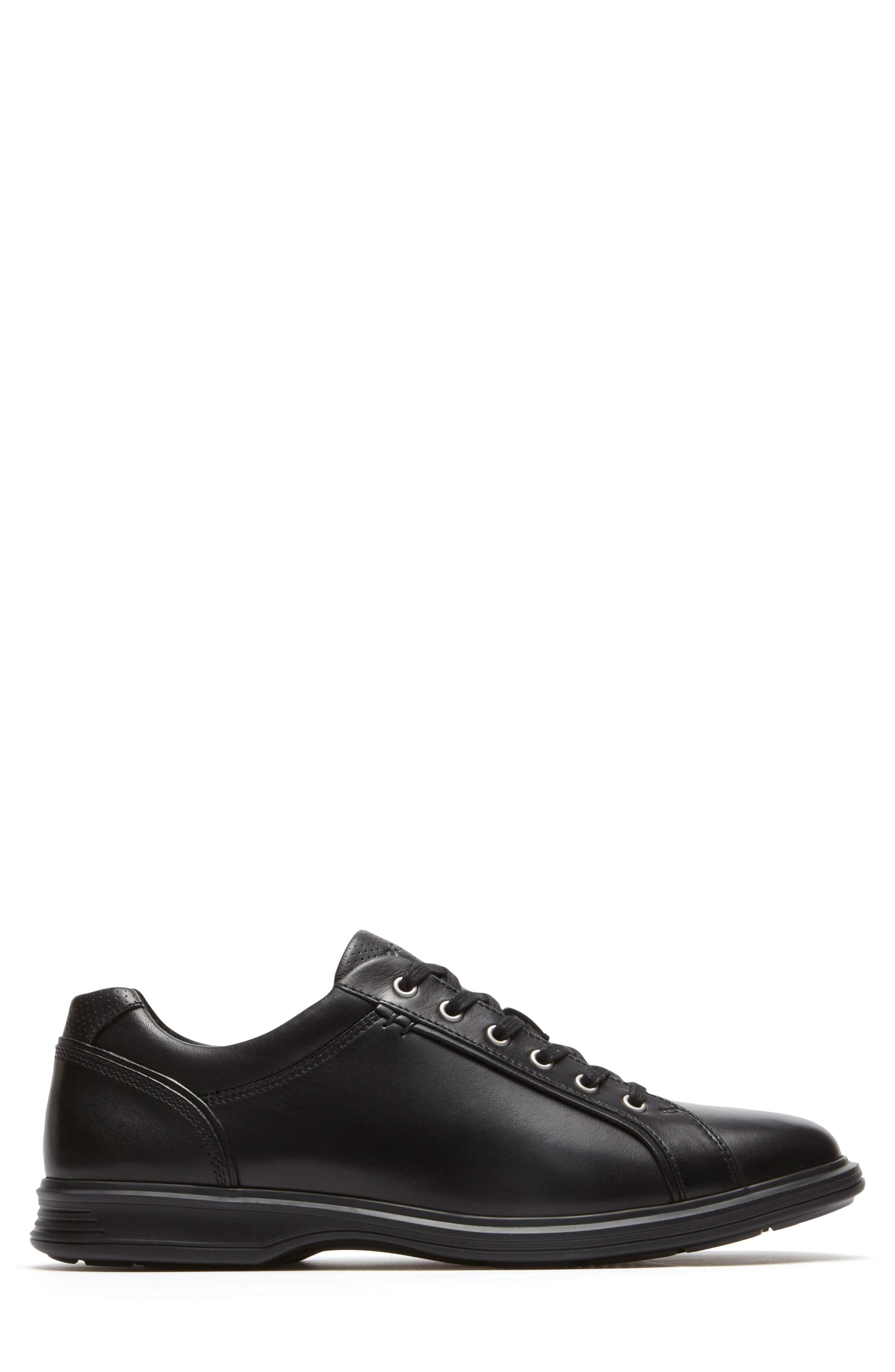 Dressports 2 Lite Plain Toe Derby,                             Alternate thumbnail 3, color,                             Black 2 Leather