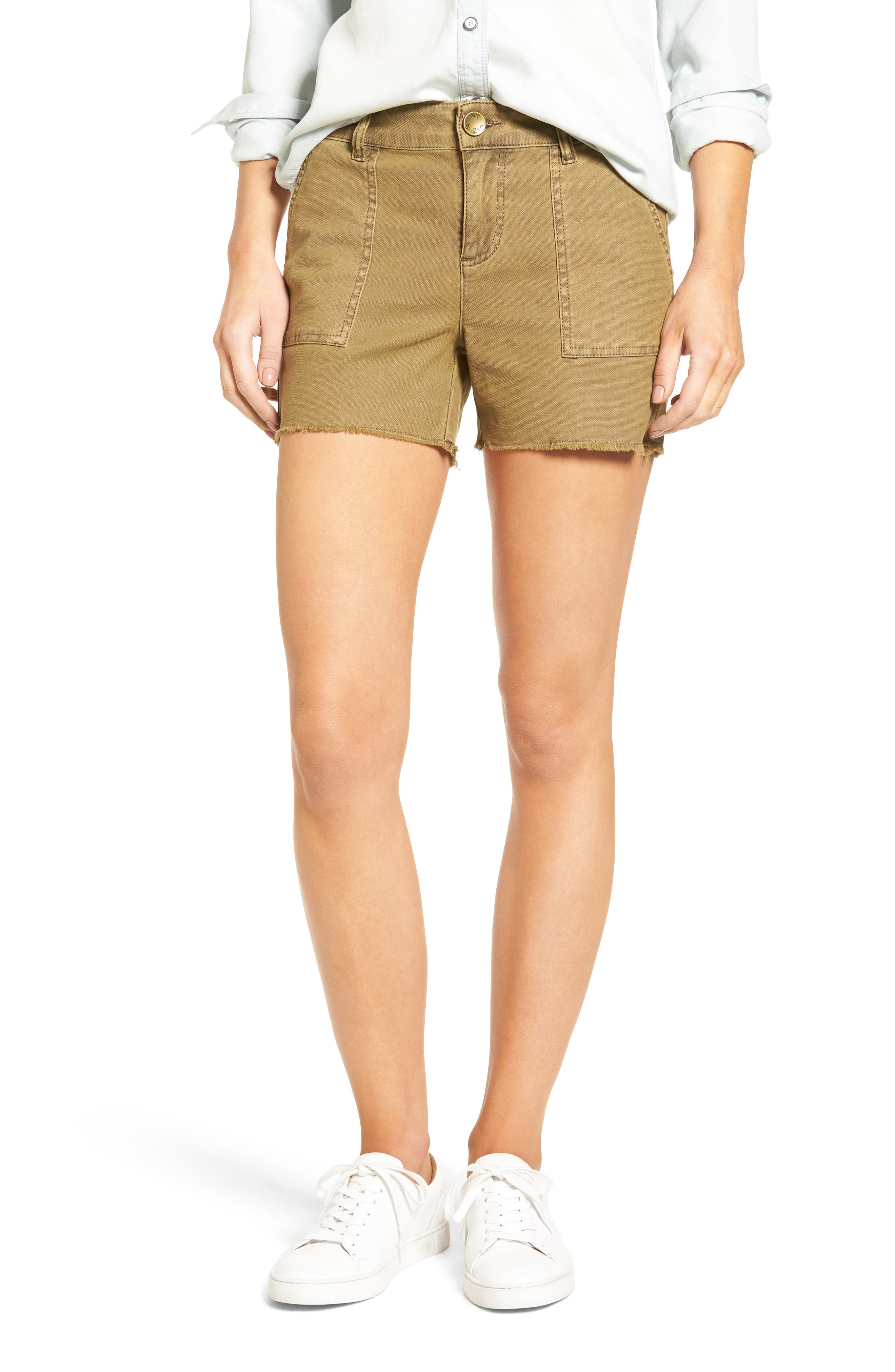 KUT from the Kloth Gidget Cutoff Shorts