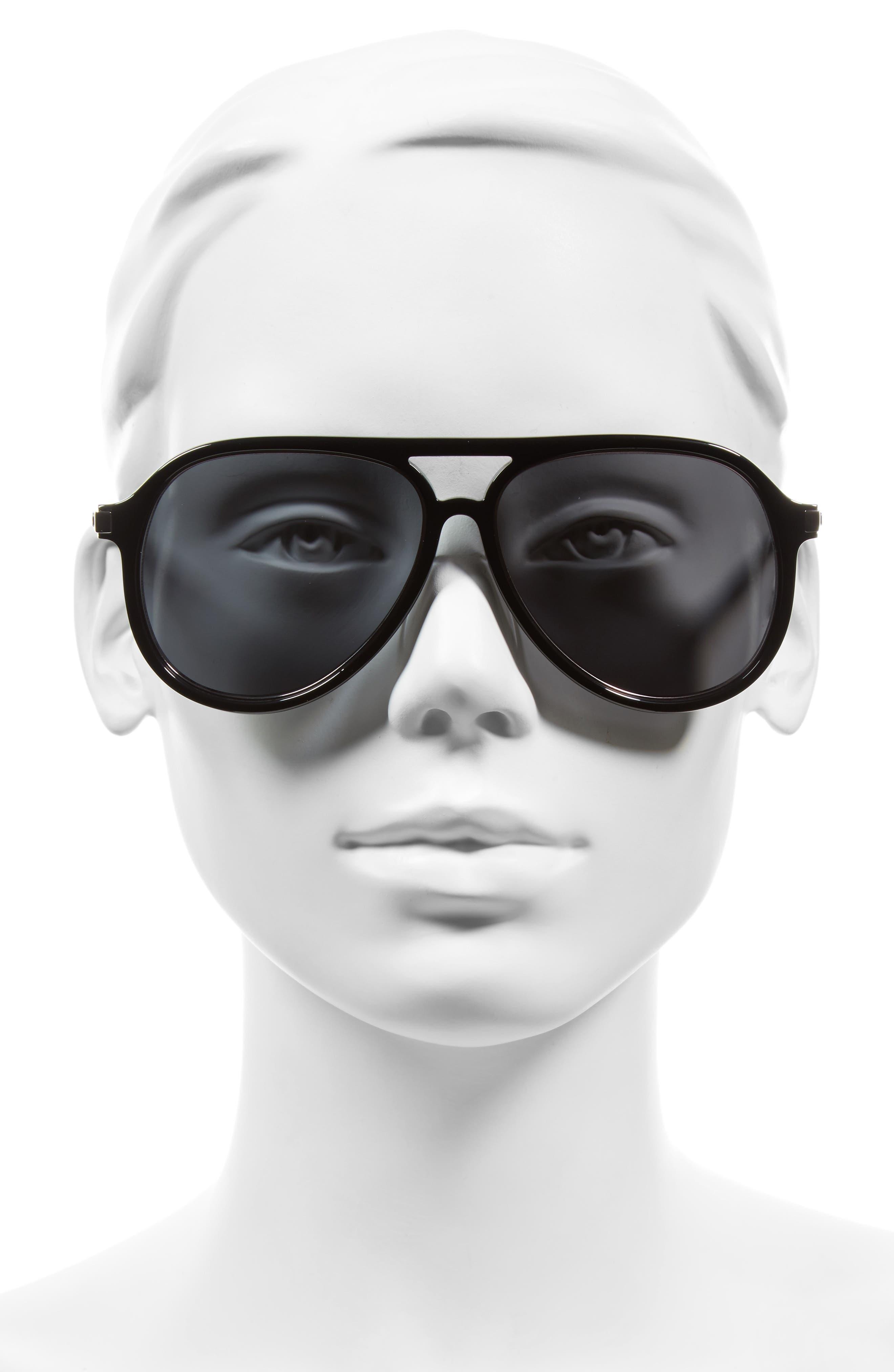 Alternate Image 2  - MARC JACOBS 58mm Navigator Sunglasses