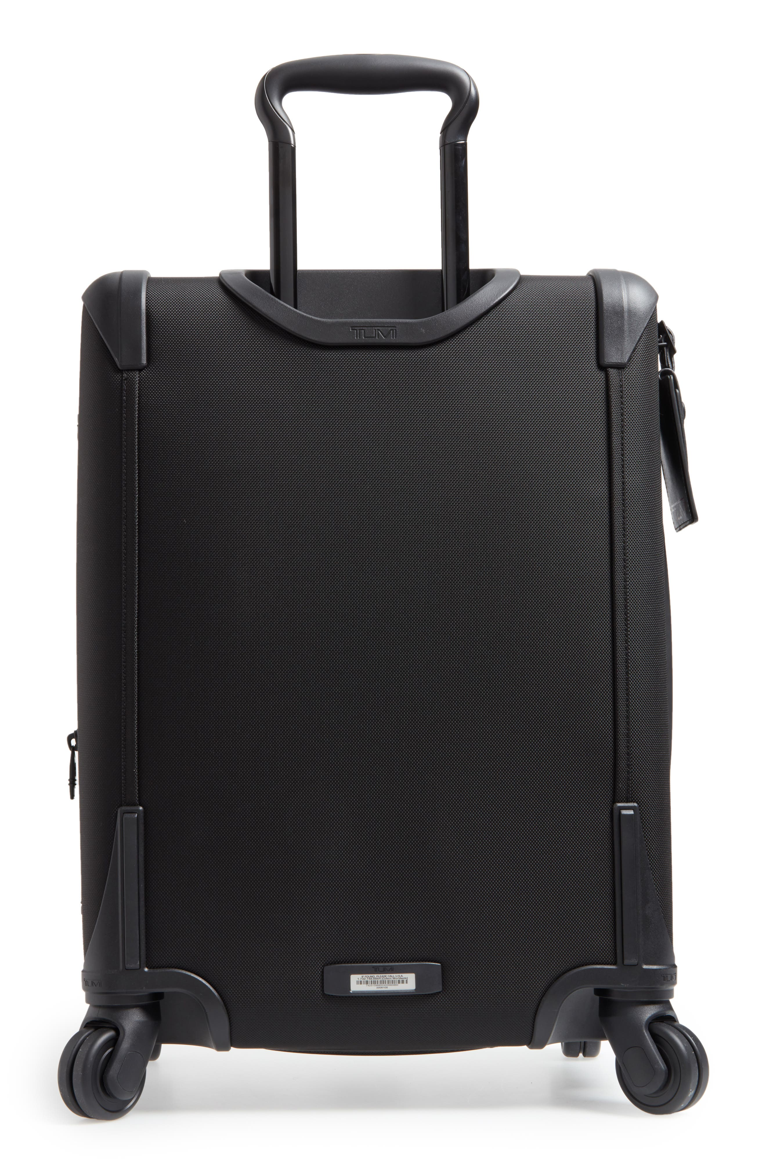 Alpha 2 Continental 22-Inch Carry-On,                             Alternate thumbnail 6, color,                             Black