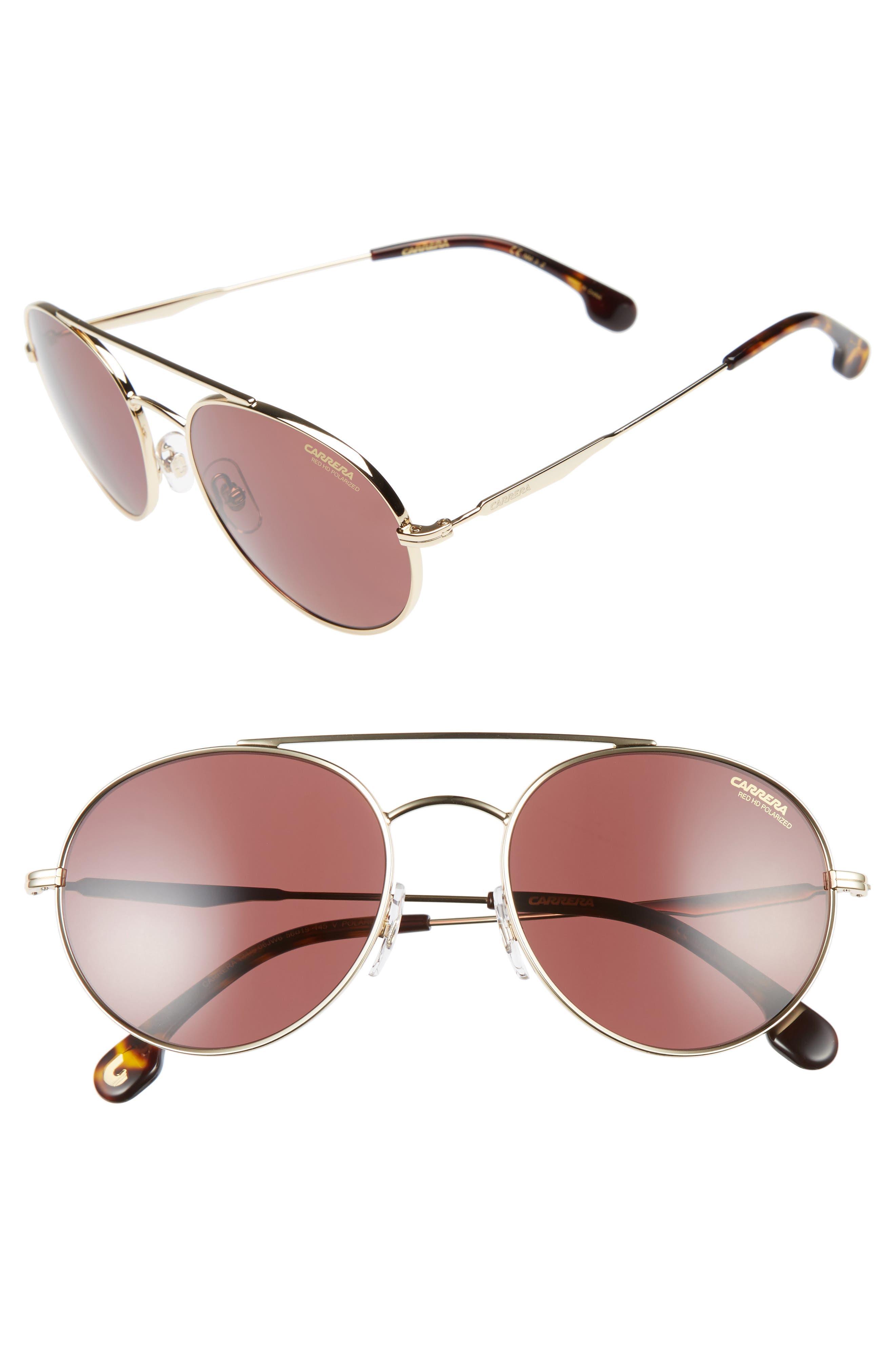 CARRERA EYEWEAR 59mm Polarized Sunglasses