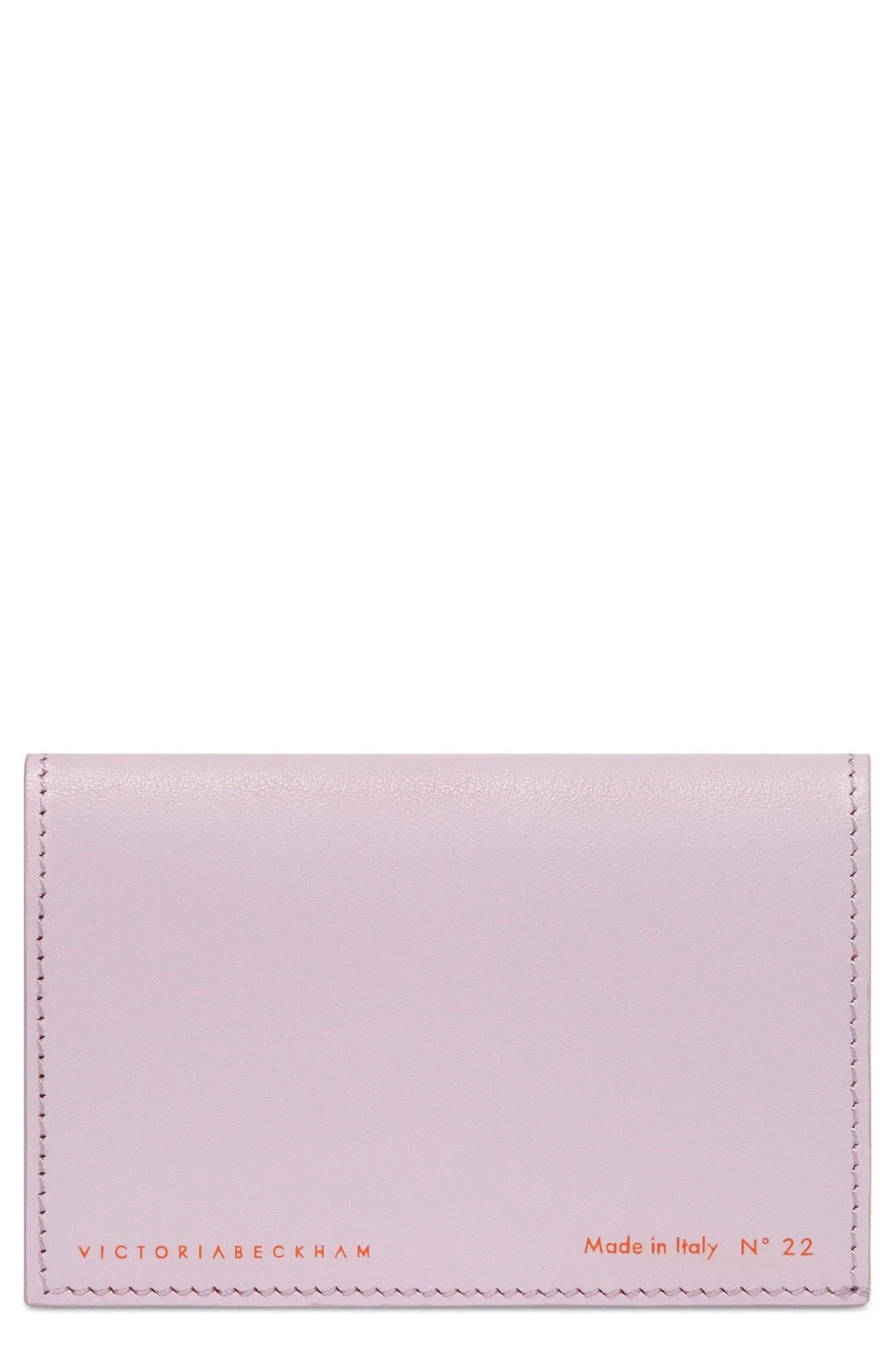 Main Image - Victoria Beckham Bifold Leather Card Case