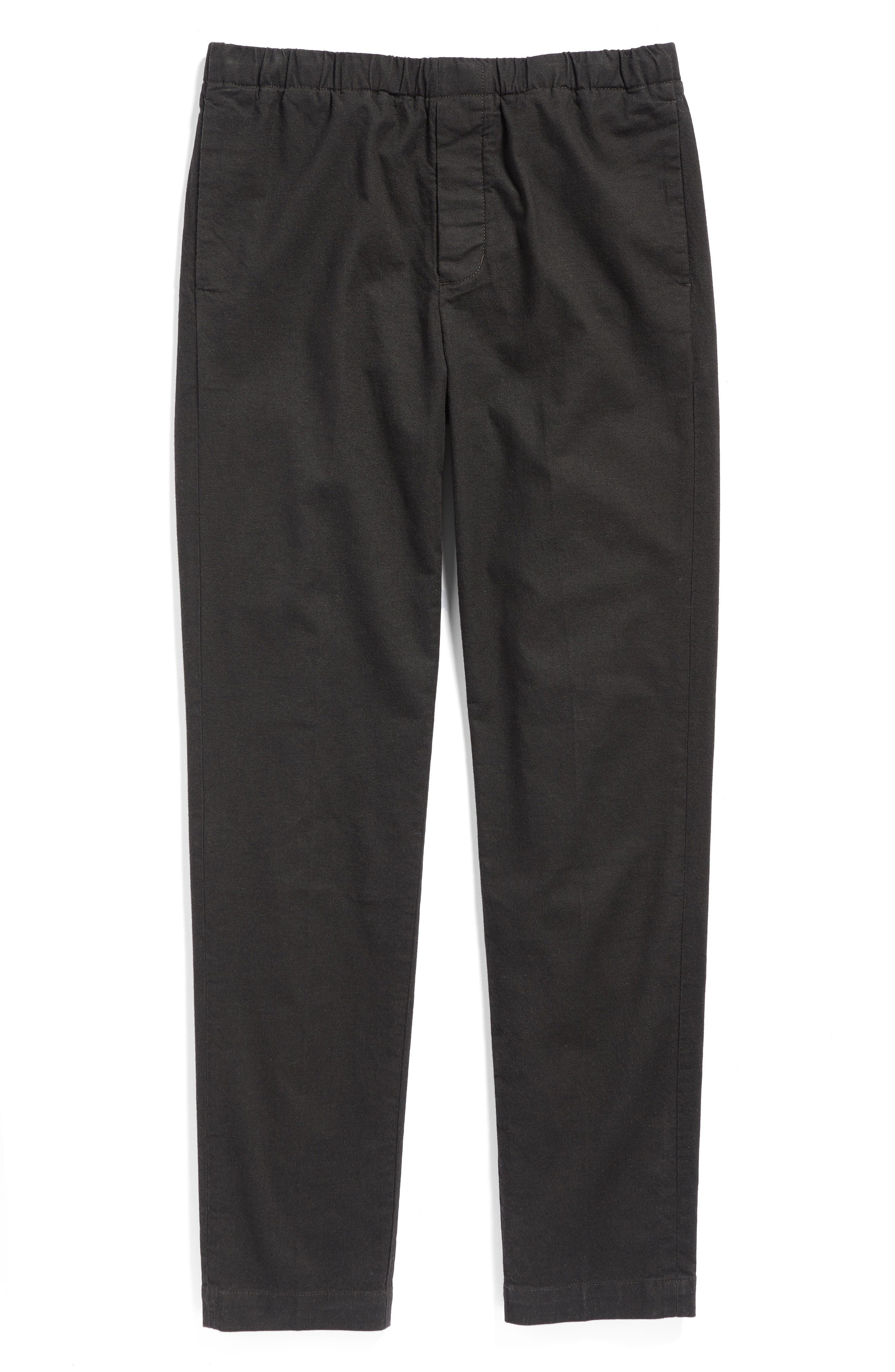 Relaxed Pants,                             Alternate thumbnail 5, color,                             Coal