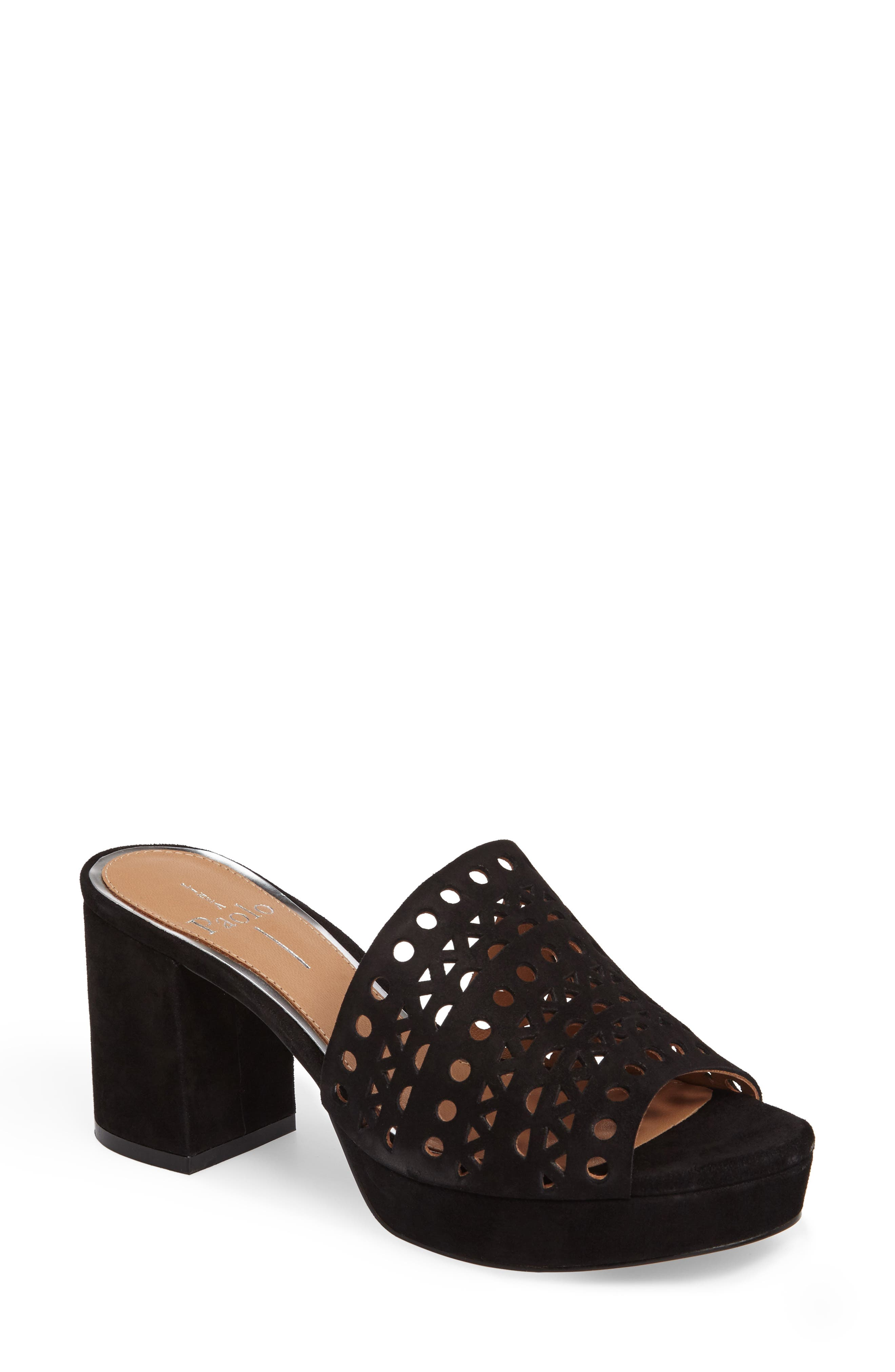 Alternate Image 1 Selected - Linea Paolo Ofra Block Heel Mule (Women)