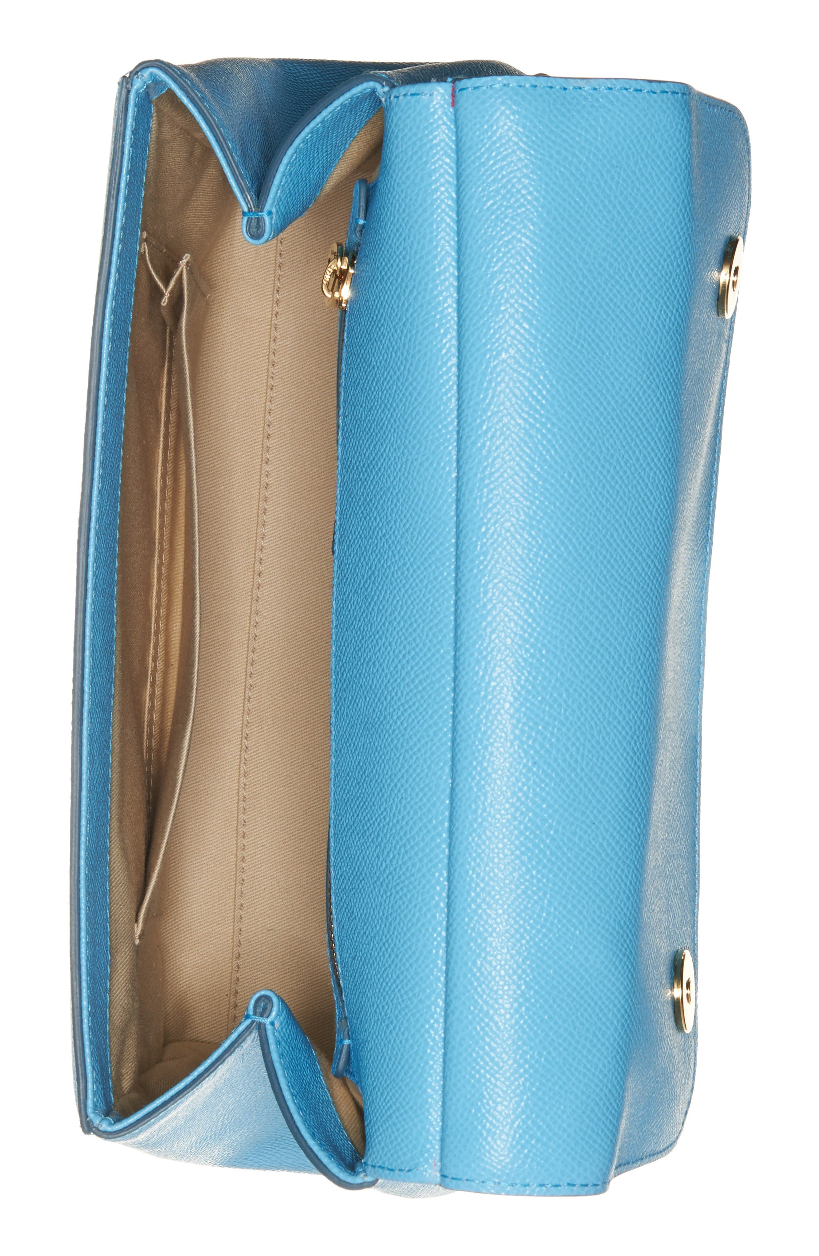 Alternate Image 3  - Dolce&Gabbana Medium Miss Sicily Leather Satchel