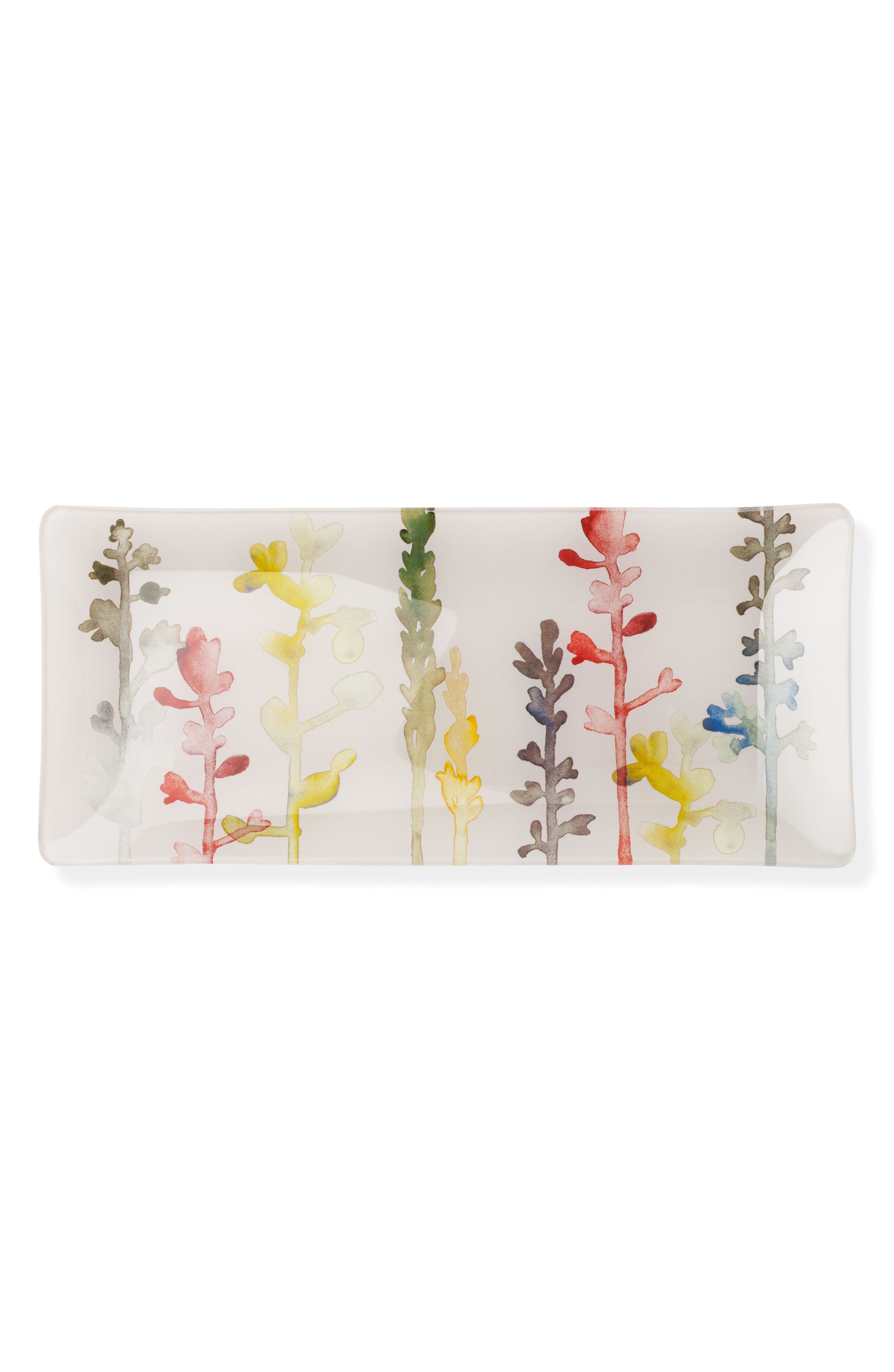 Fringe Studio Watercolor Stems Trinket Tray