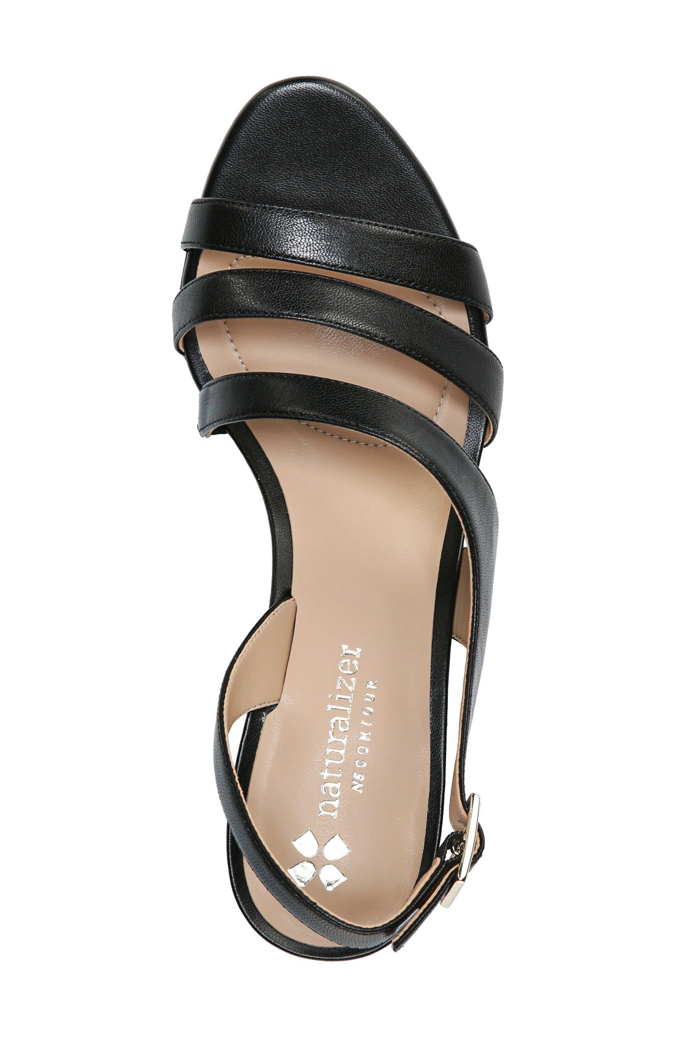 Taimi Sandal,                             Alternate thumbnail 2, color,                             Black Leather