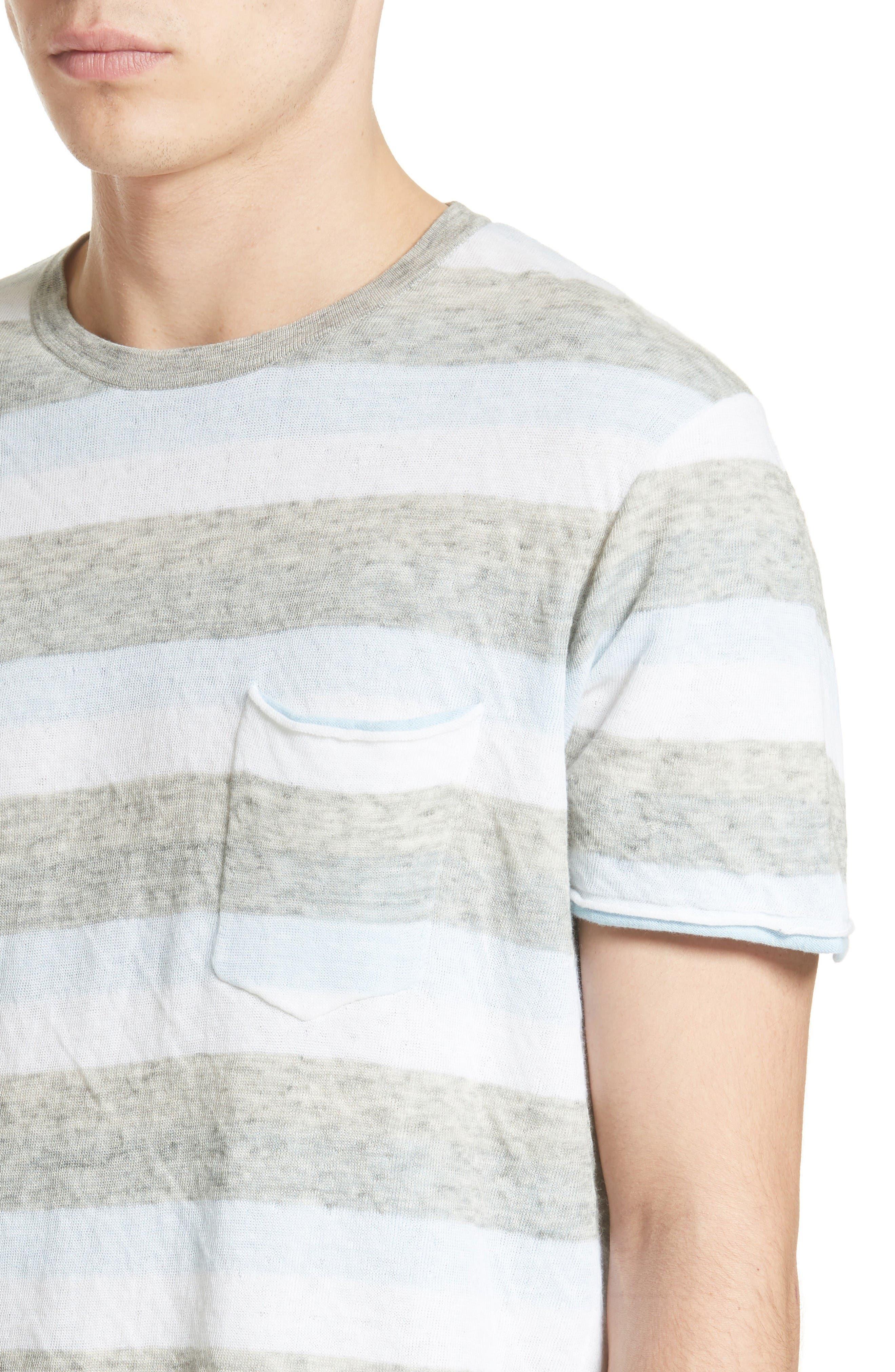 Alternate Image 4  - rag & bone Tripp Cotton & Wool T-Shirt
