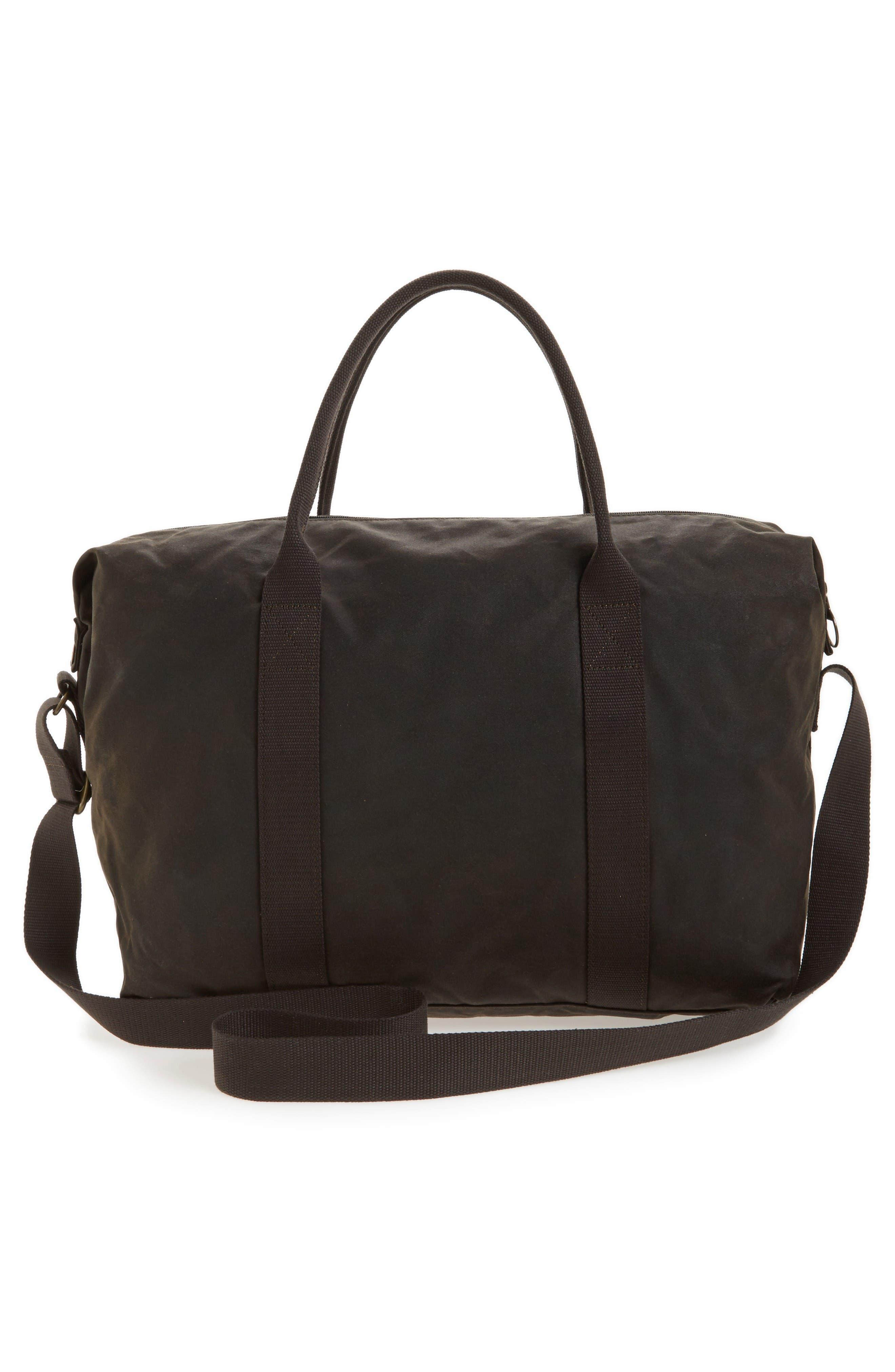 Dromond Canvas Holdall Bag,                             Alternate thumbnail 3, color,                             Olive