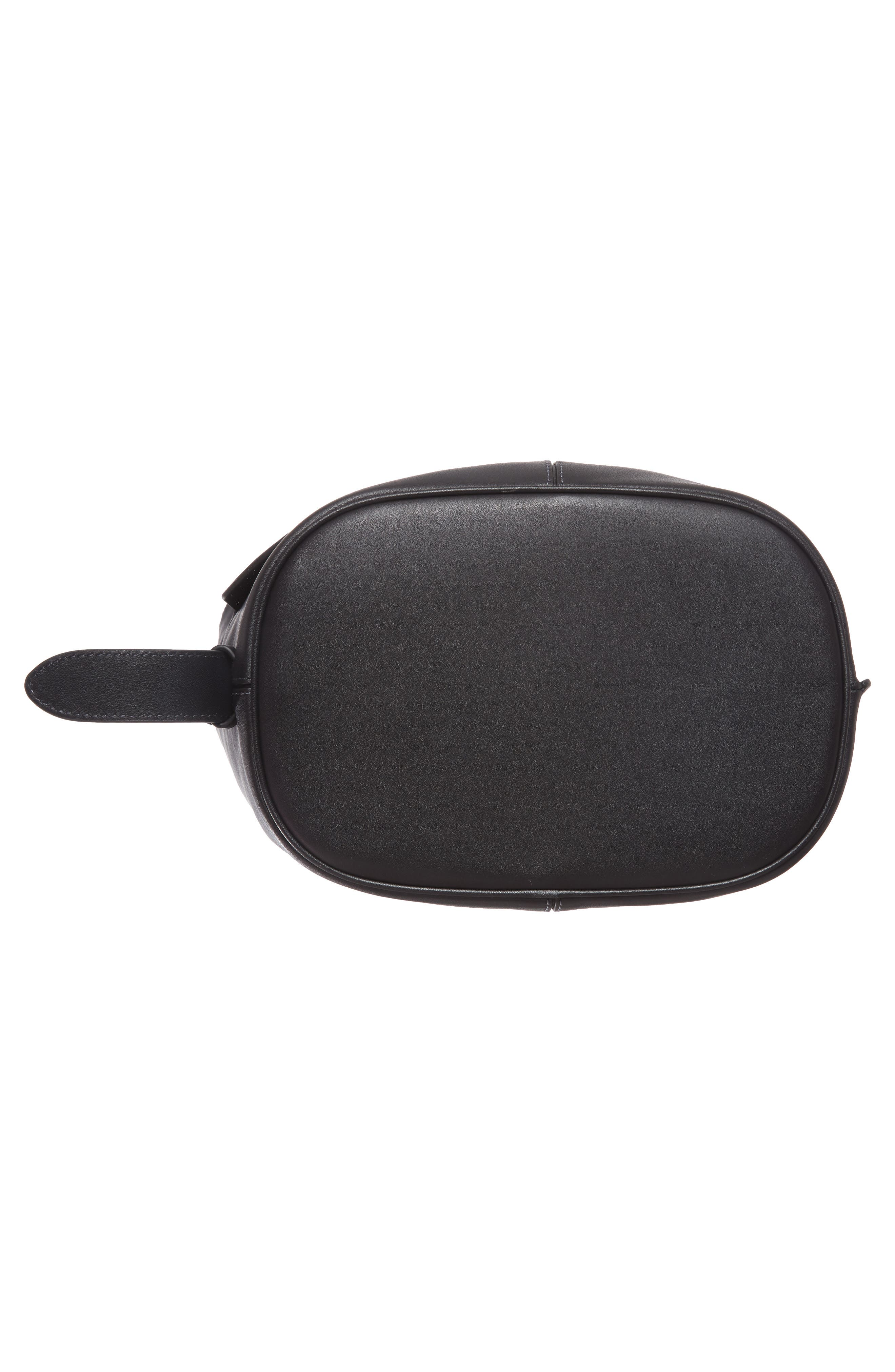 The Sling Convertible Leather Hobo,                             Alternate thumbnail 7, color,                             Black