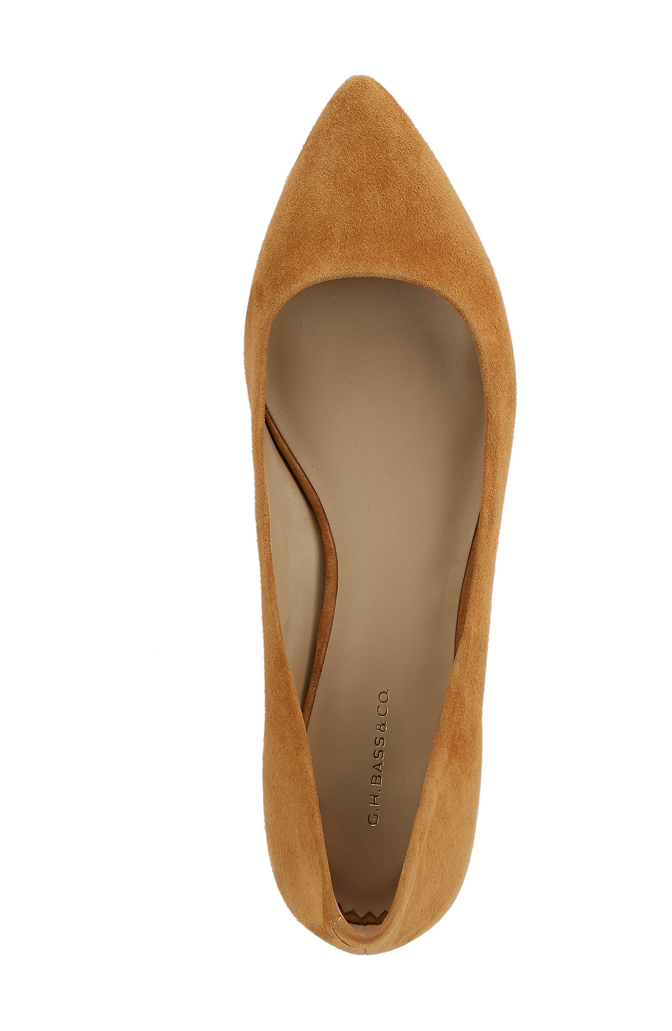 Alternate Image 3  - G.H. Bass & Co. Kayla Pointy Toe Flat (Women)