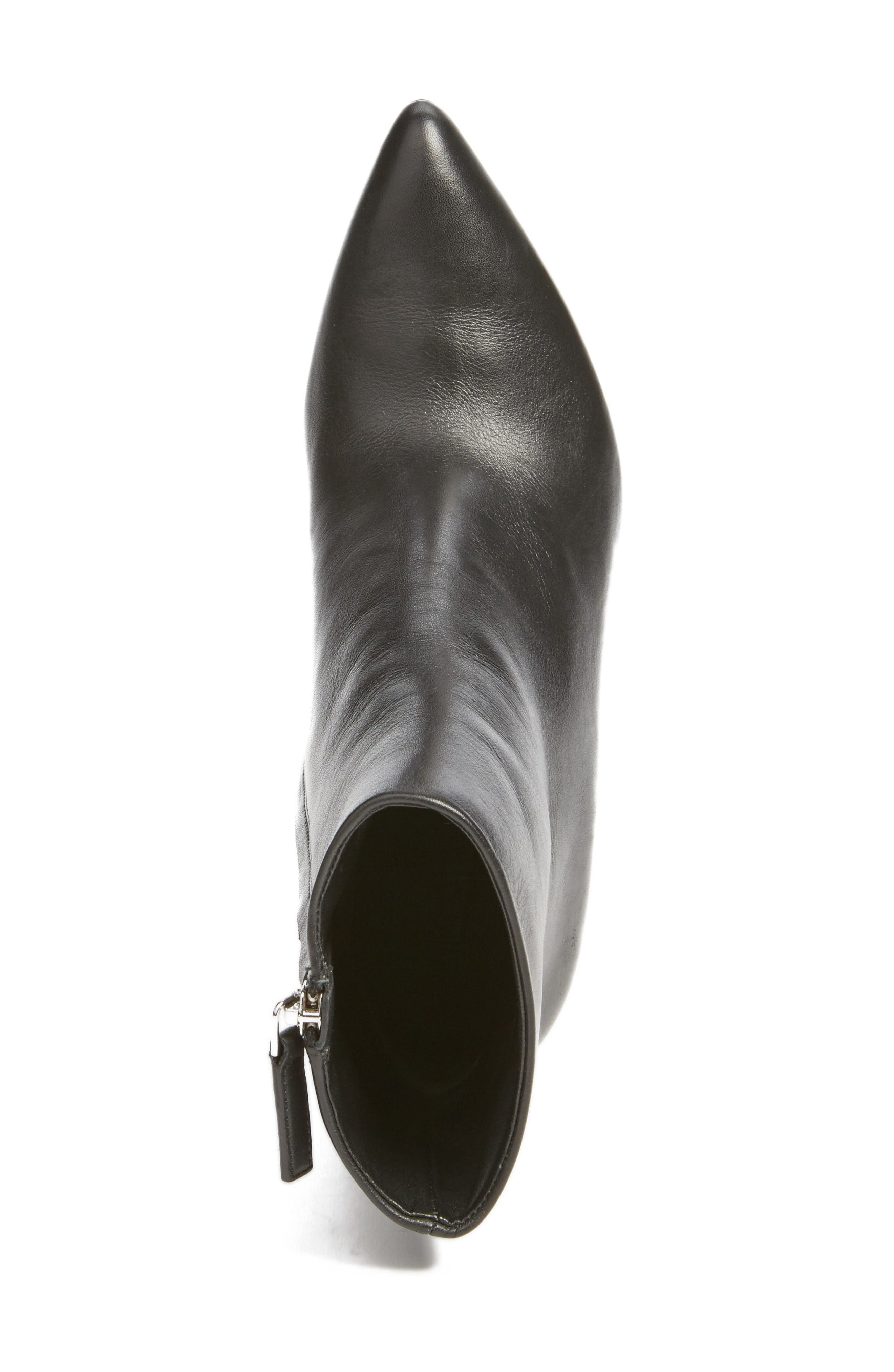 Kirby Boot,                             Alternate thumbnail 5, color,                             Black Leather