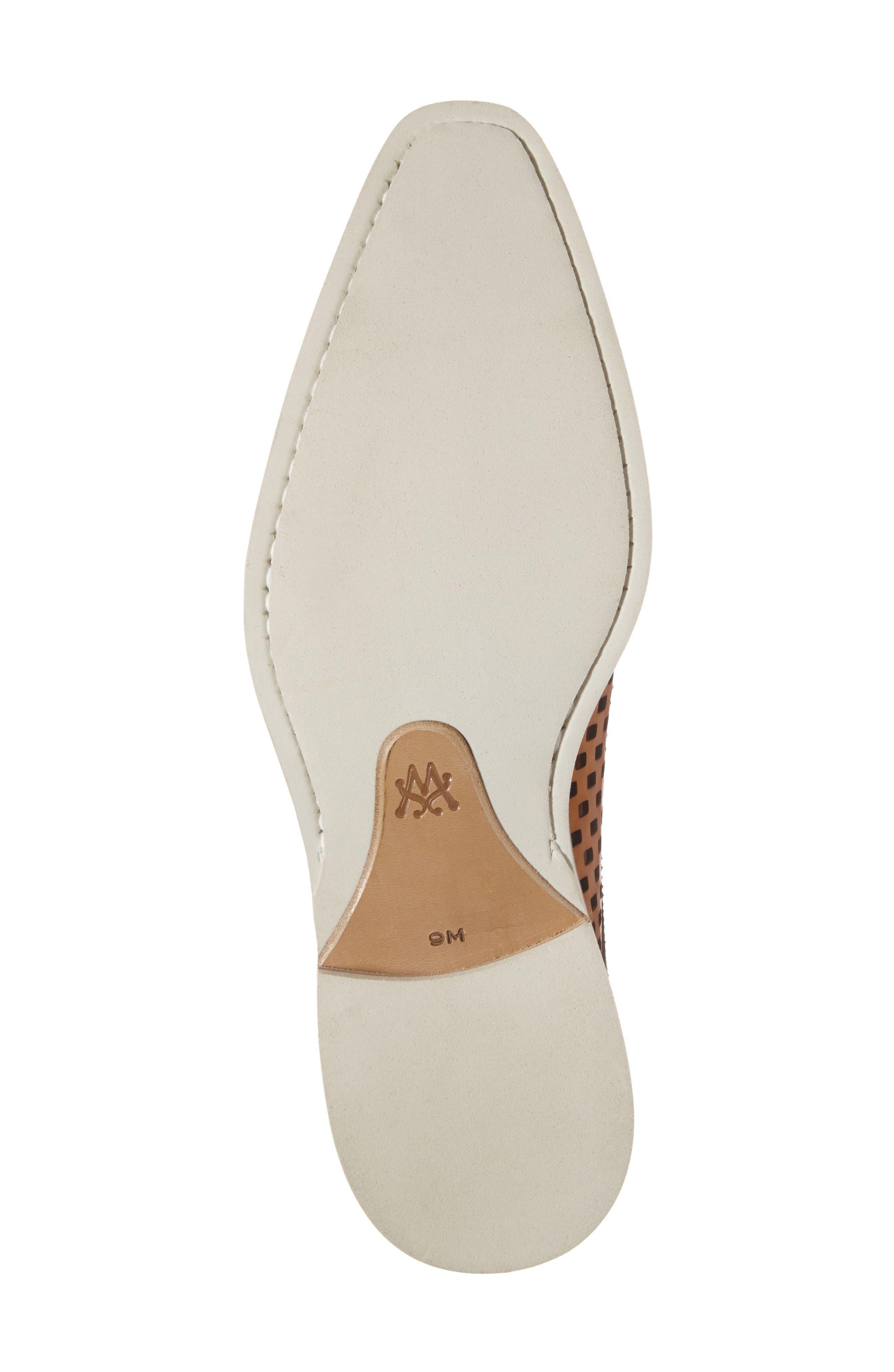 Alvarez Spectator Shoe,                             Alternate thumbnail 6, color,                             Cognac Multi Leather