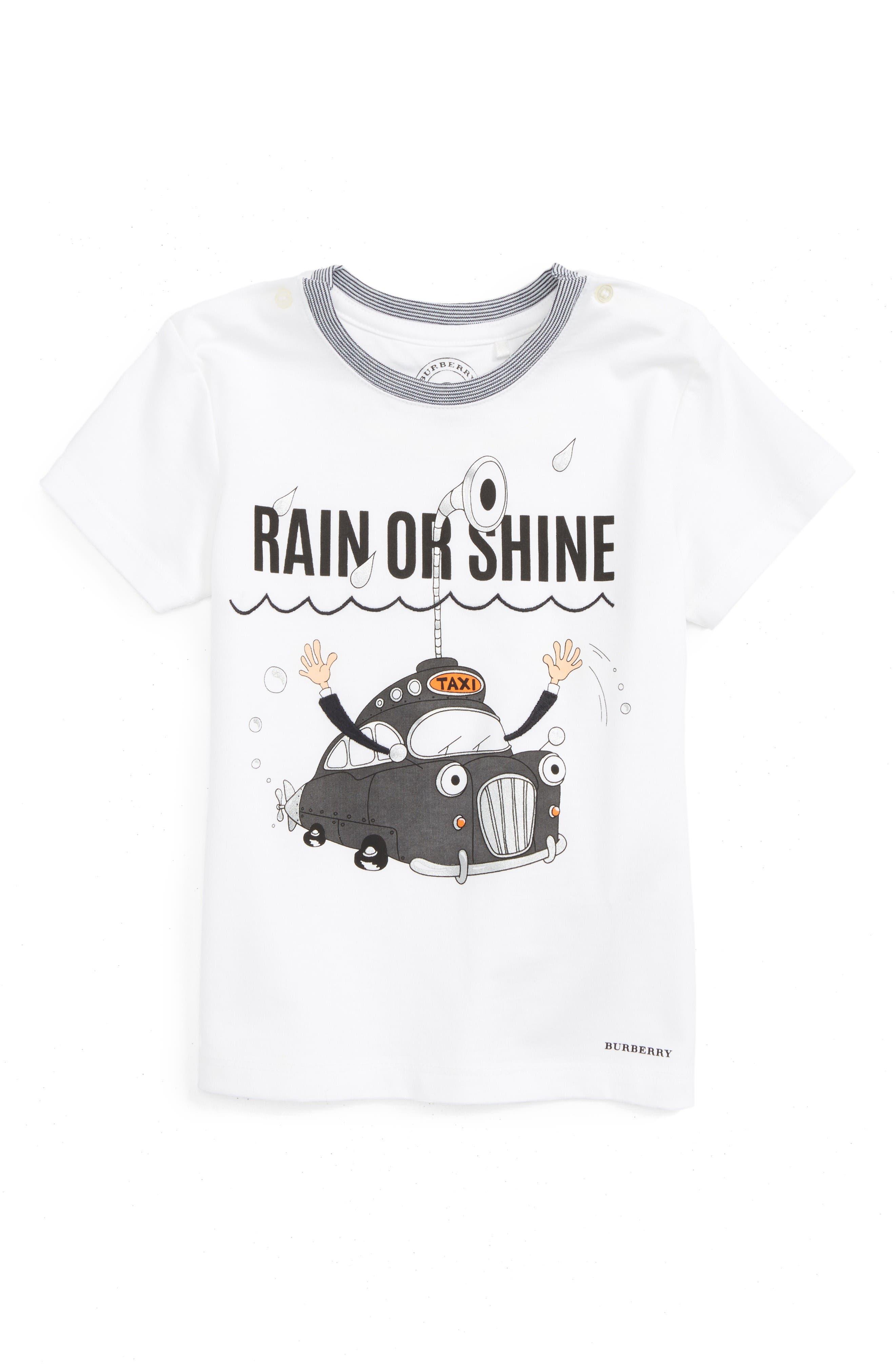 BURBERRY Rain Or Shine Graphic Shirt