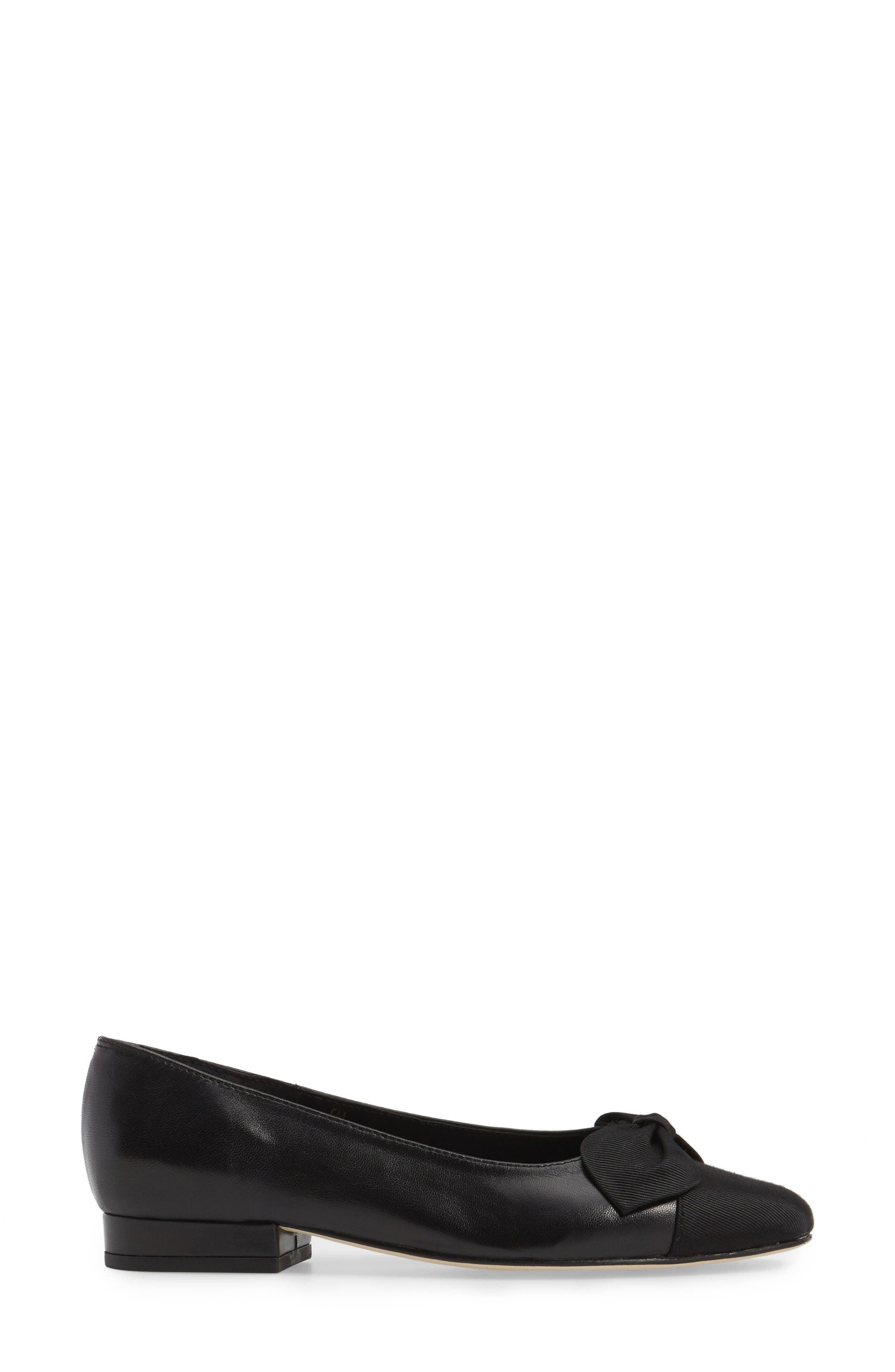 Alternate Image 3  - VANELi Favor Bow Flat (Women)