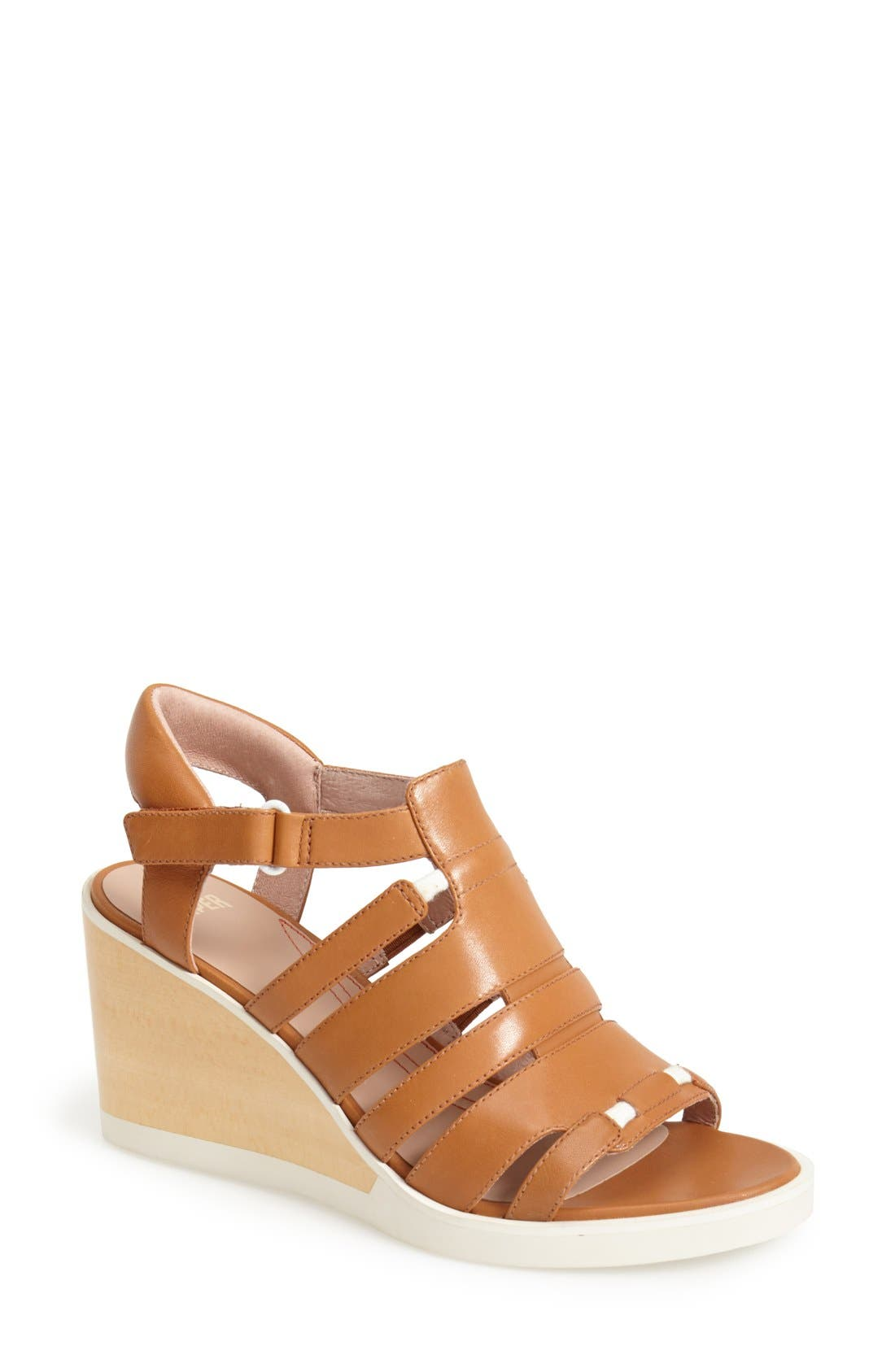 Alternate Image 1 Selected - Camper 'Limi' Strappy Wedge Sandal (Women)