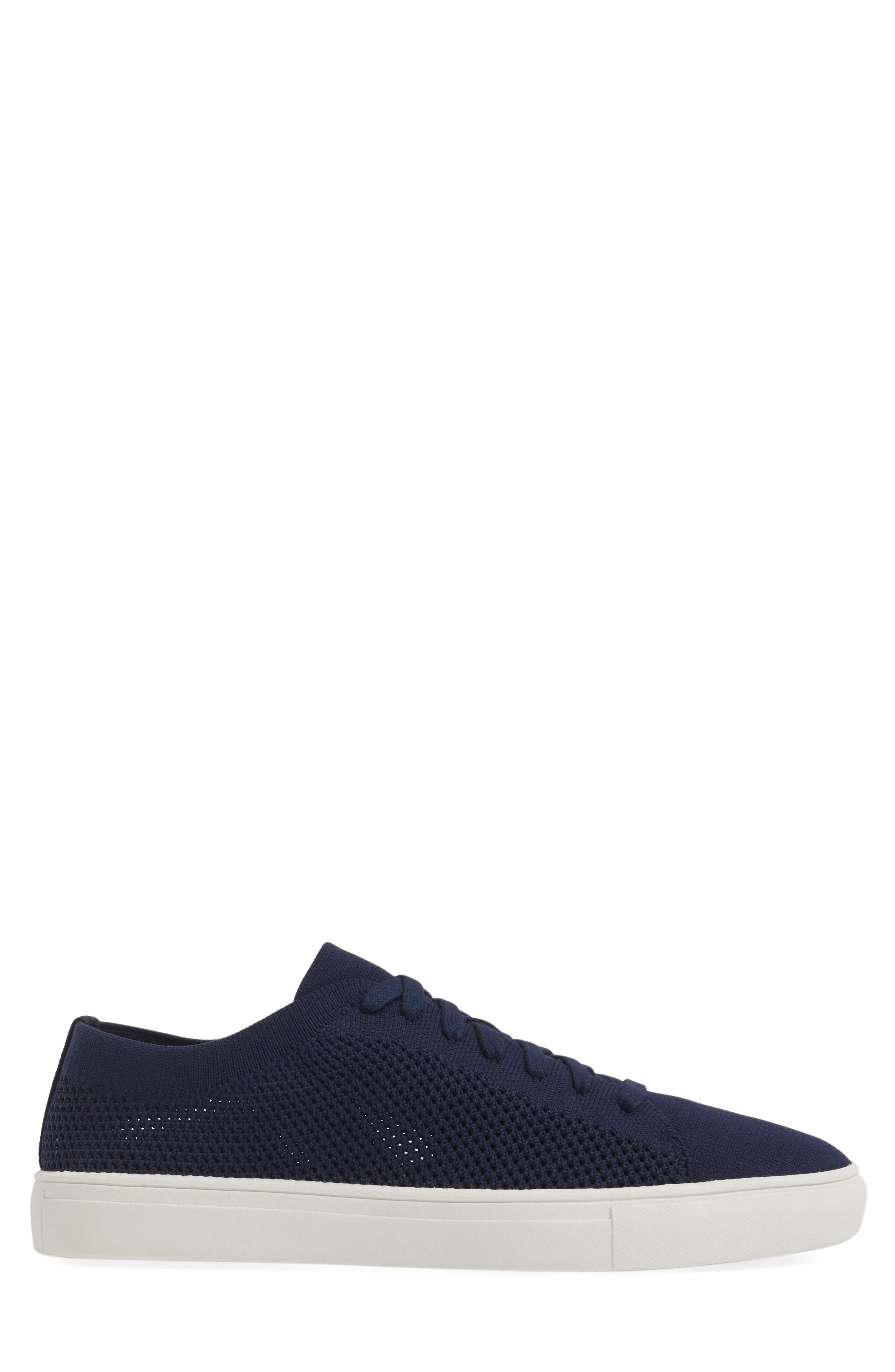 On the Road Woven Sneaker,                             Alternate thumbnail 3, color,                             Navy