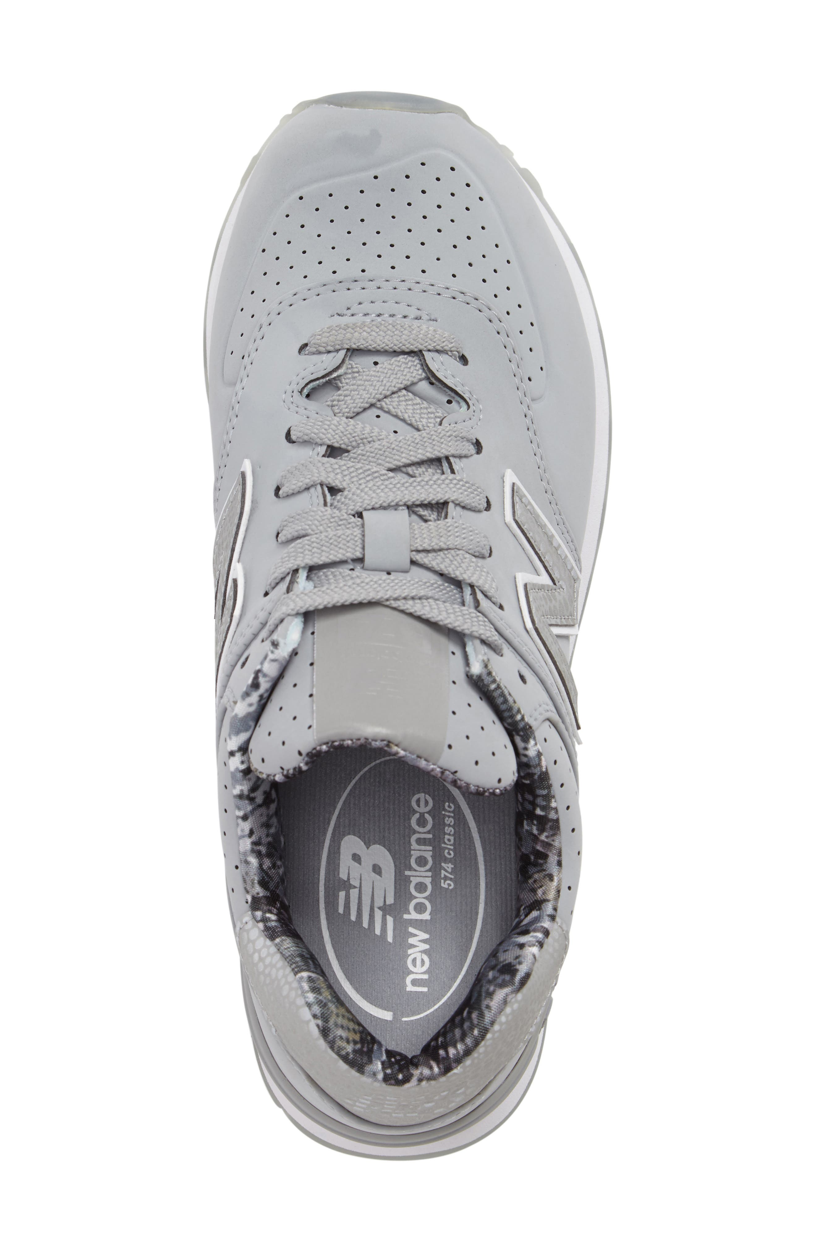 Alternate Image 5  - New Balance 574 Luxe Rep Sneaker (Women)