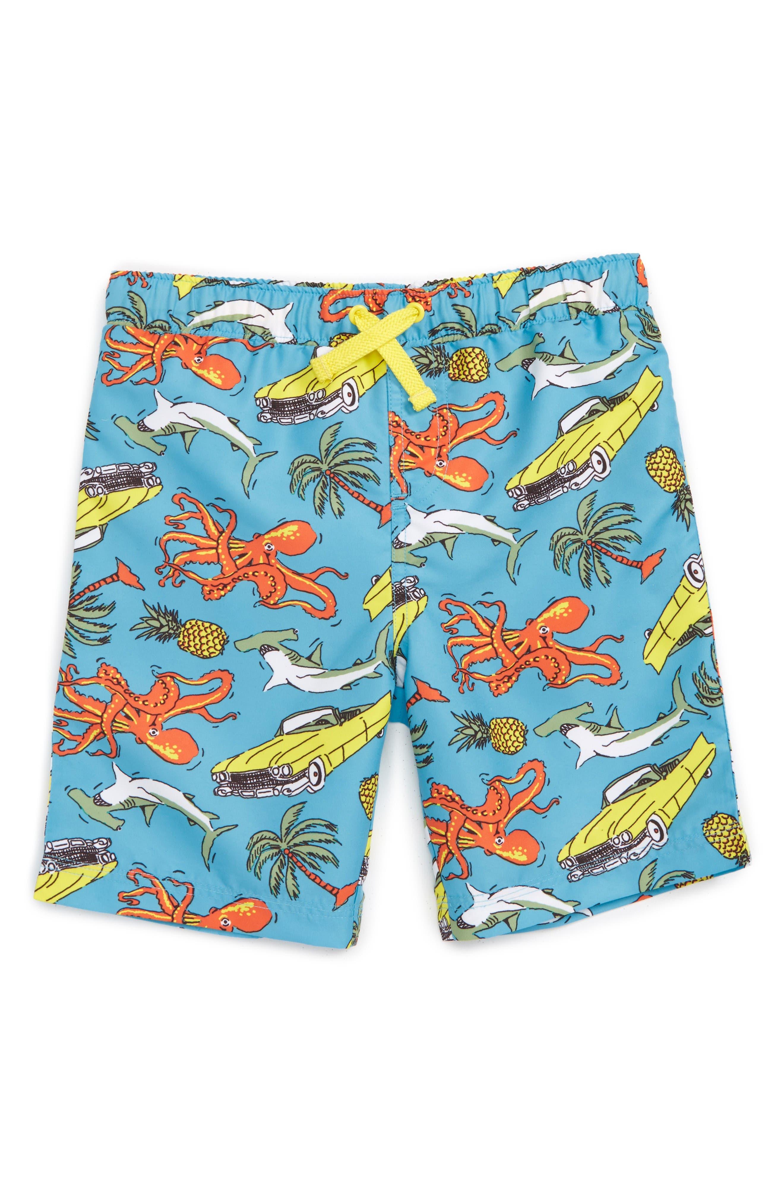 Main Image - Tucker + Tate 'Sand 'N My Trunks' Swim Trunks (Toddler Boys & Little Boys)