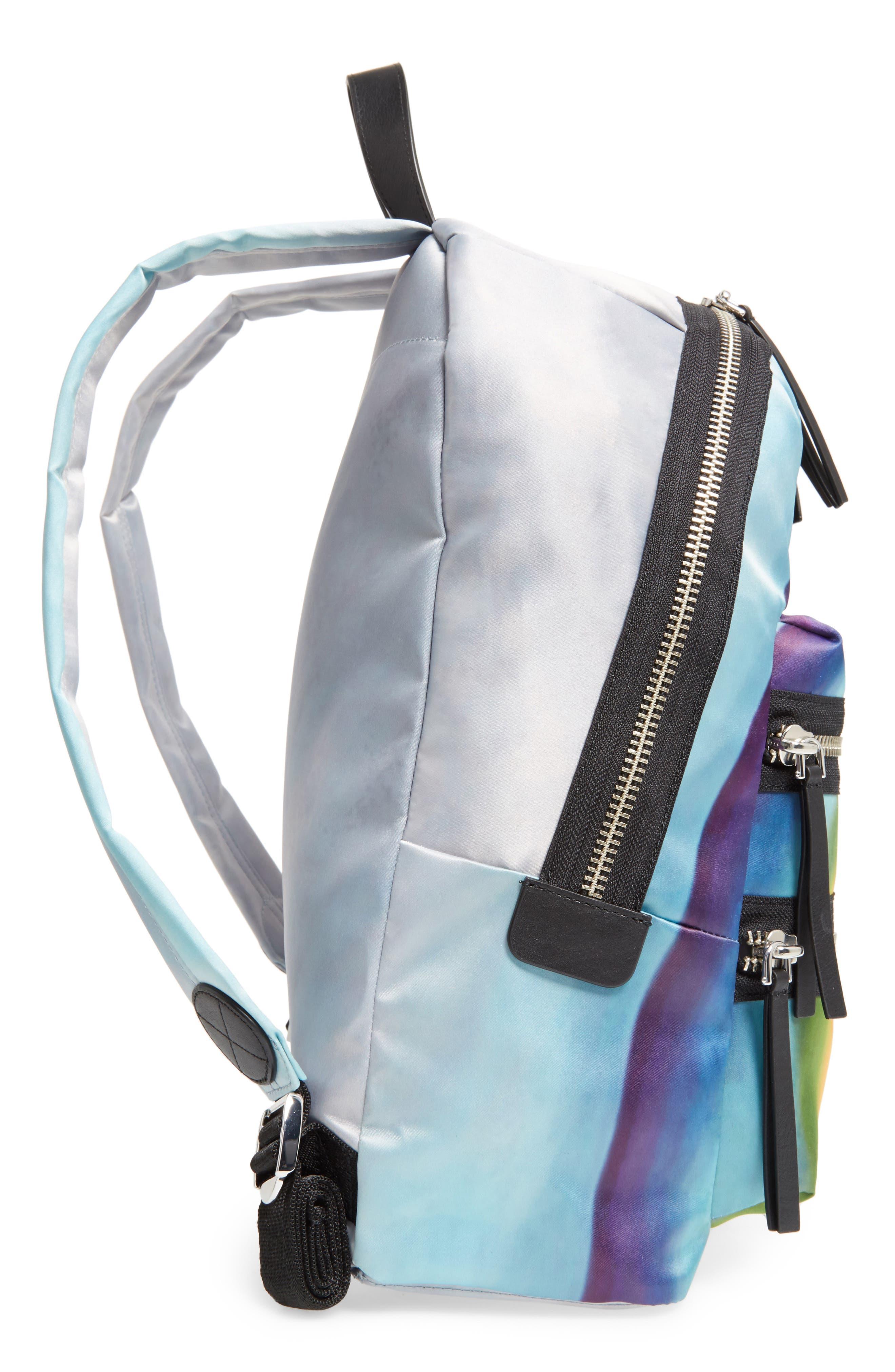 Alternate Image 5  - MARC JACOBS Biker Rainbow Print Backpack