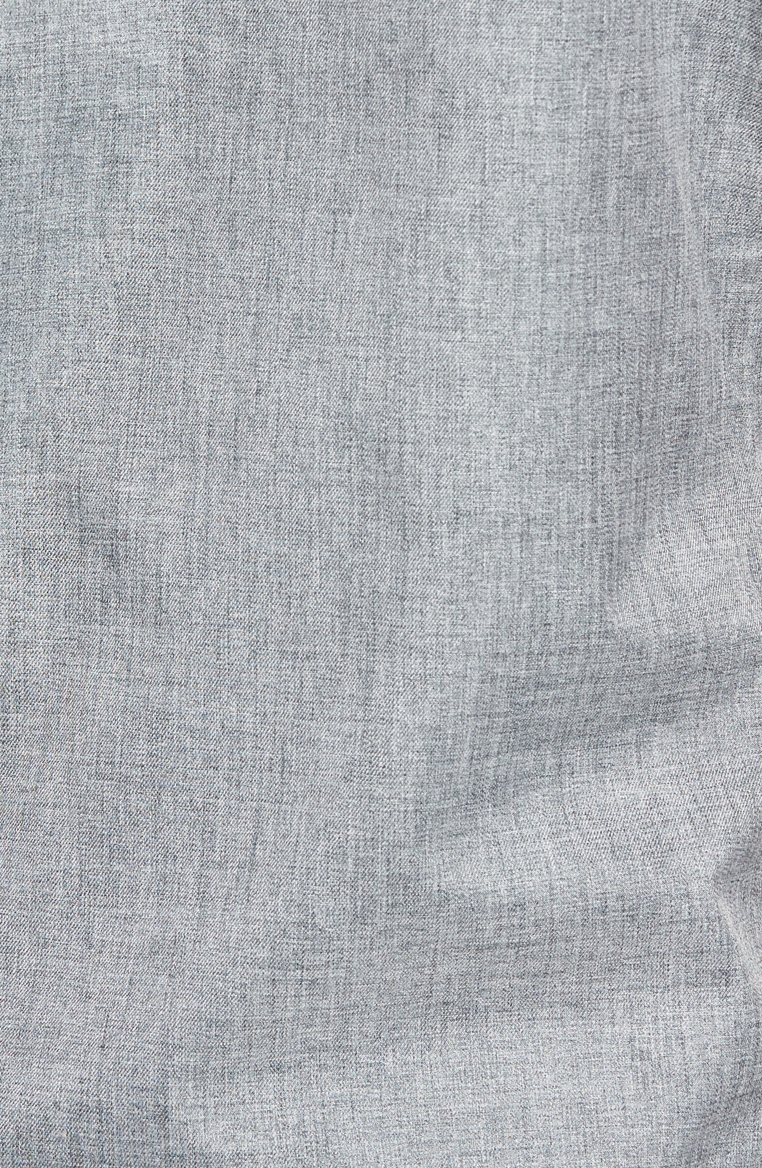 The Newton Vest,                             Alternate thumbnail 5, color,                             Heather Grey