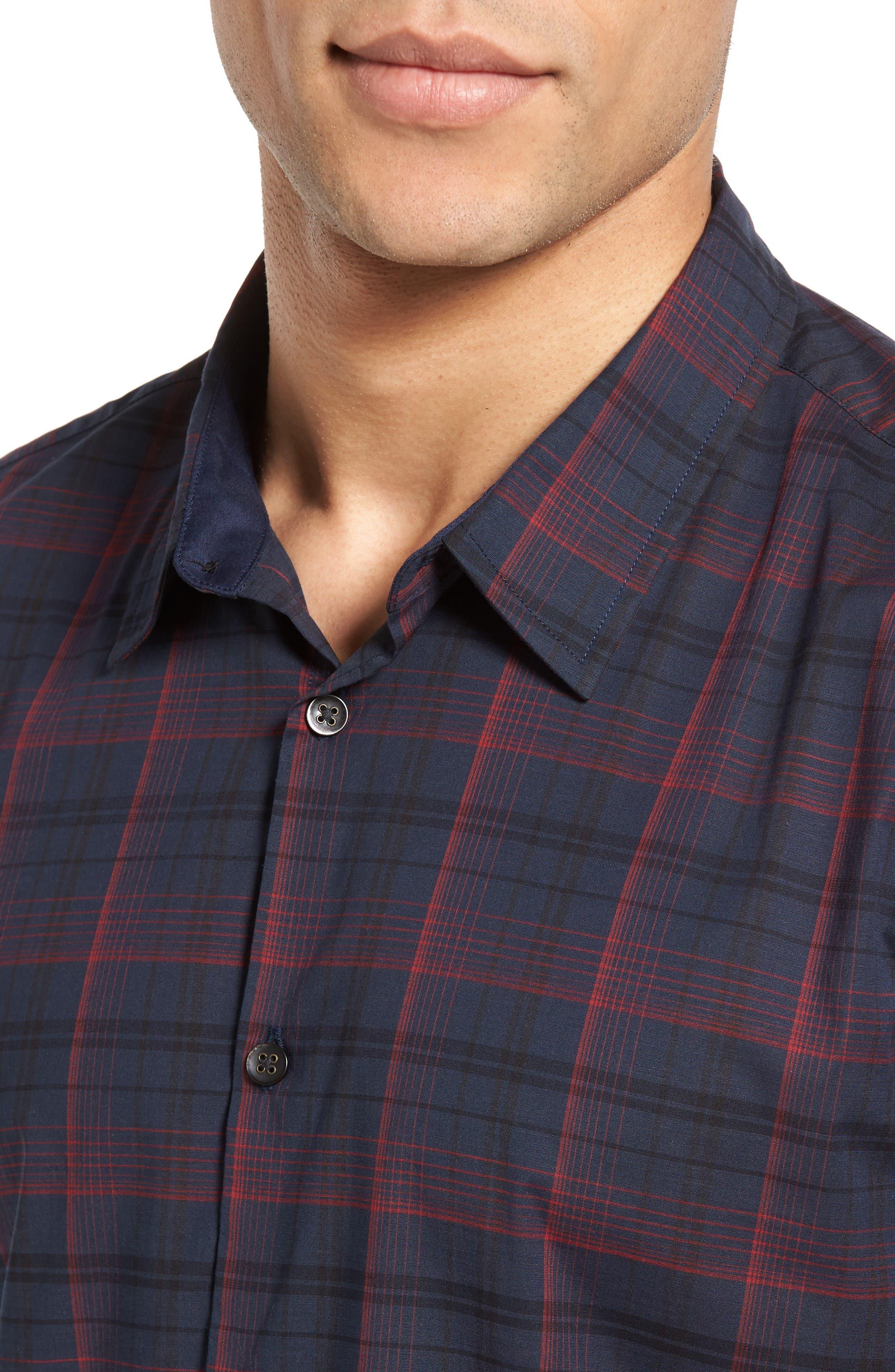 Alternate Image 4  - John Varvatos Star USA Cotton Sport Shirt