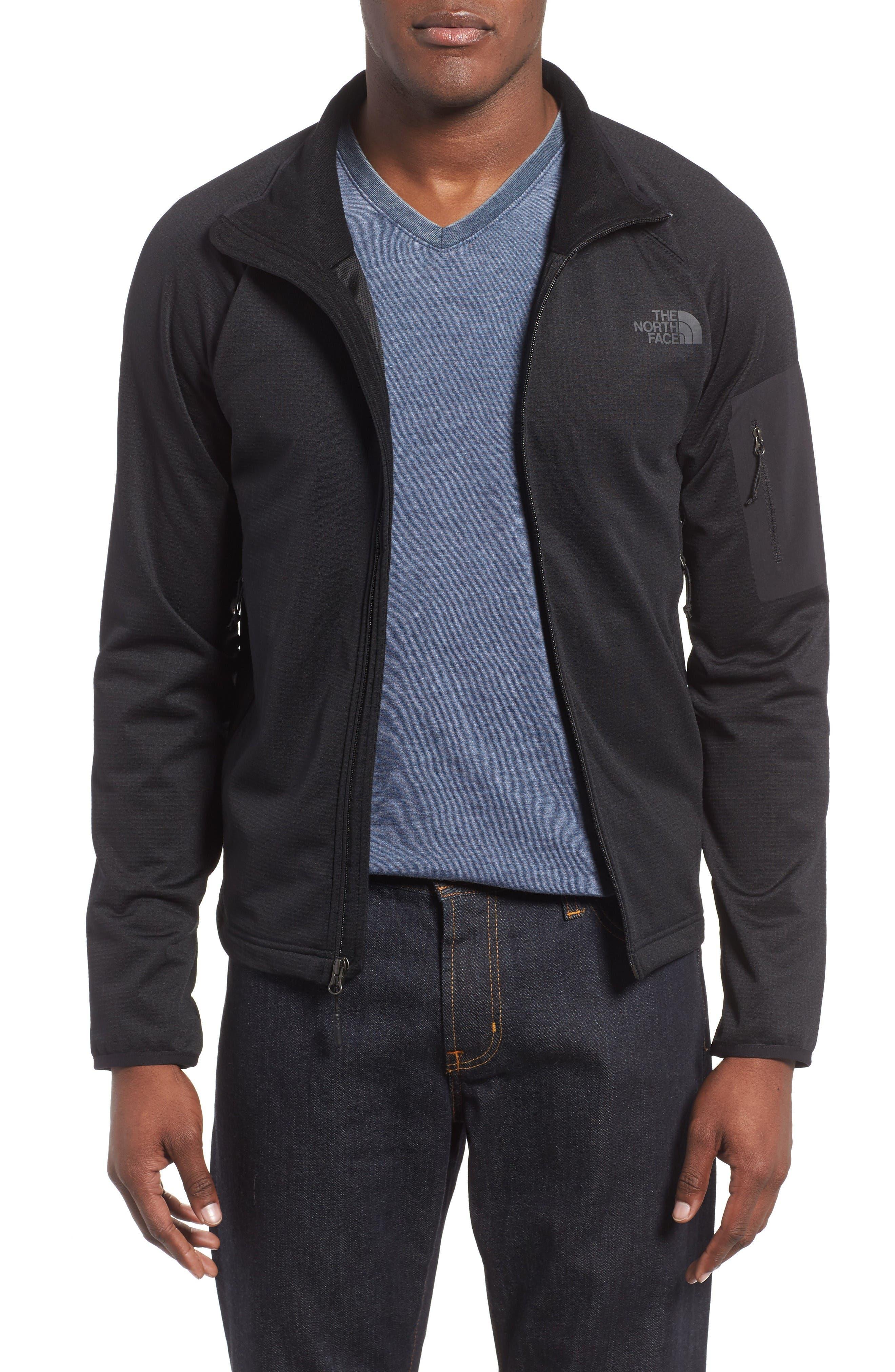 Borod Jacket,                             Main thumbnail 1, color,                             Tnf Black/ Tnf Black