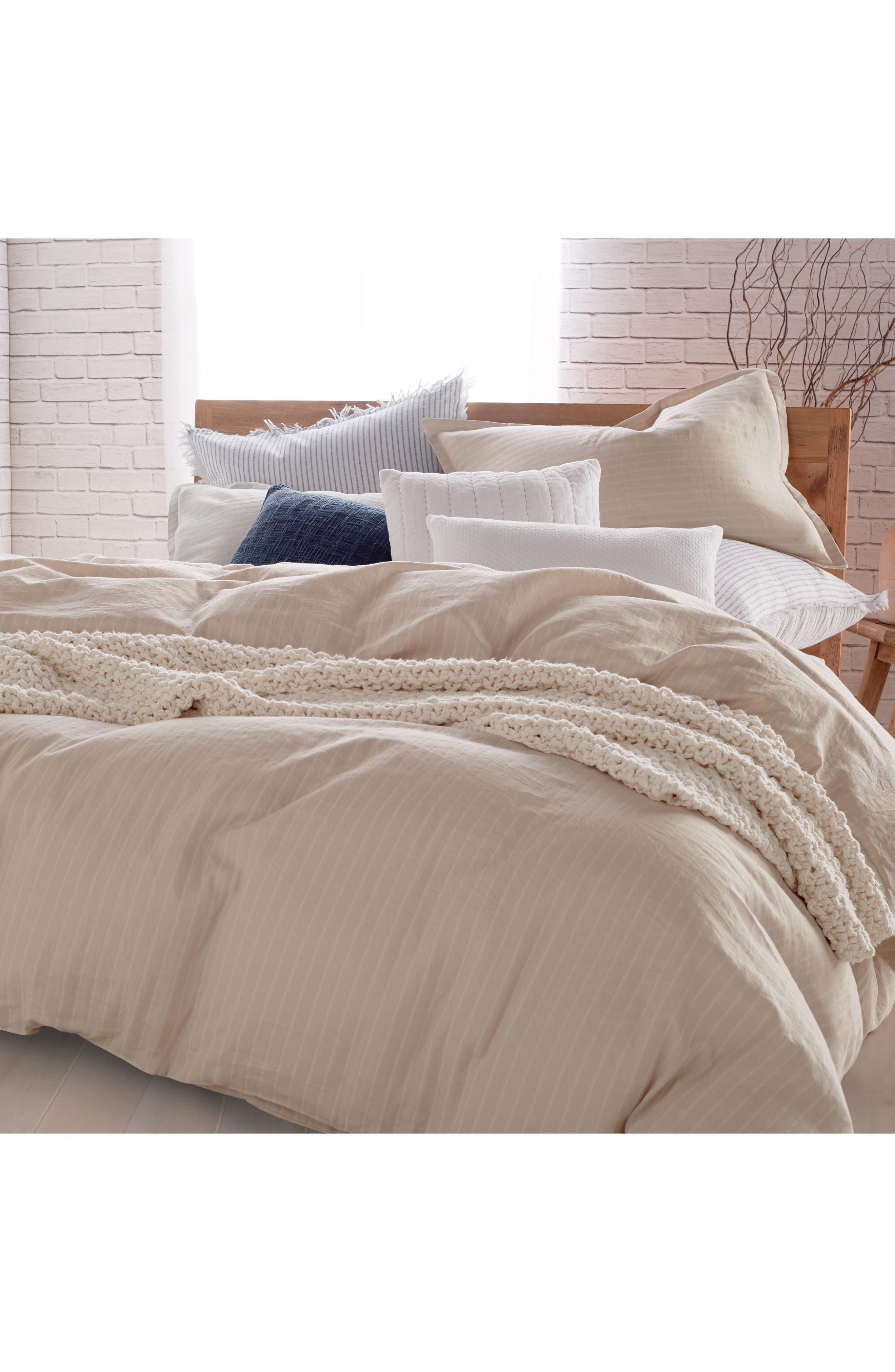 PURE Comfy Duvet Cover,                         Main,                         color, Linen