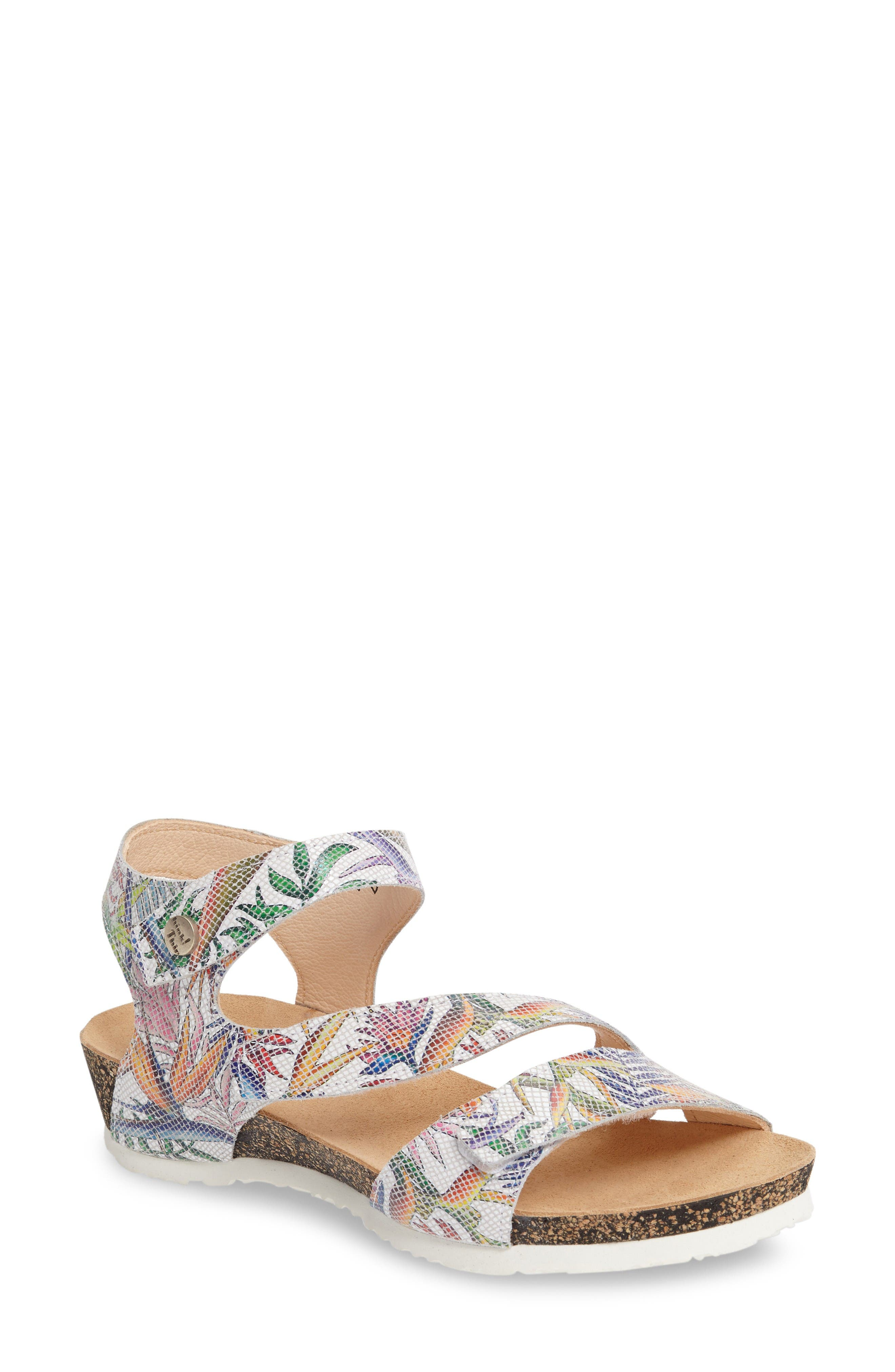 Think! 'Dumia' Three Strap Sandal (Online Only)