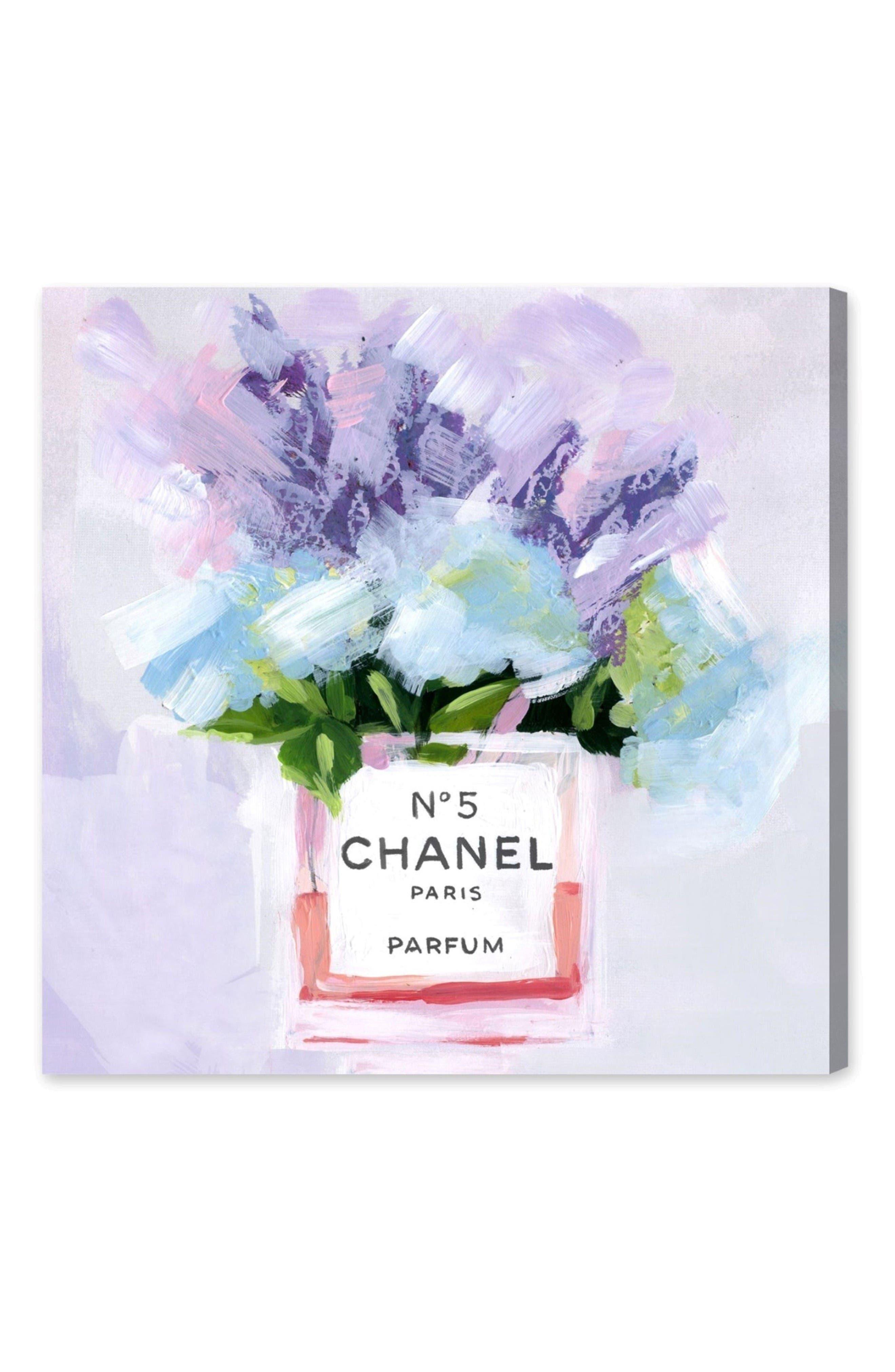 Paris No. 5 Canvas Wall Art,                         Main,                         color, Purple