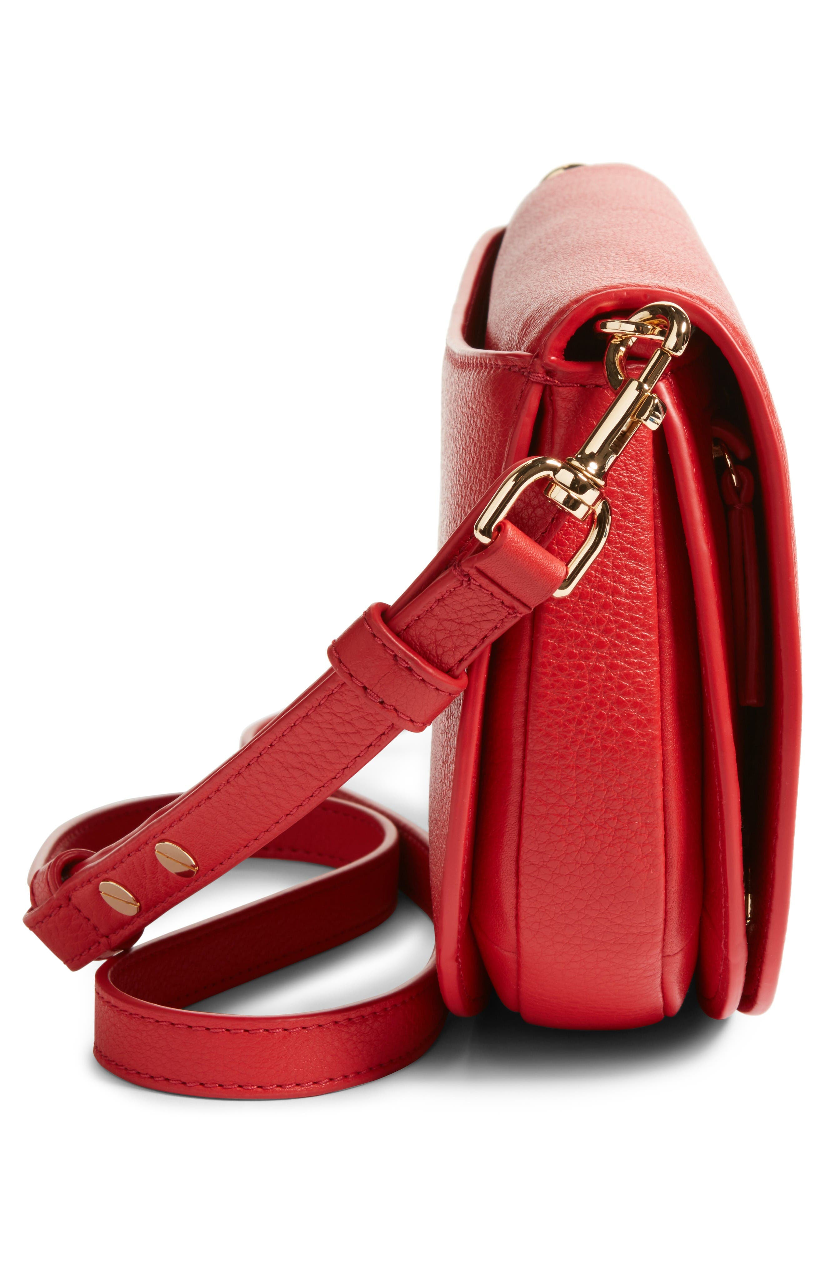 Alternate Image 5  - Tory Burch Jamie Convertible Leather Clutch