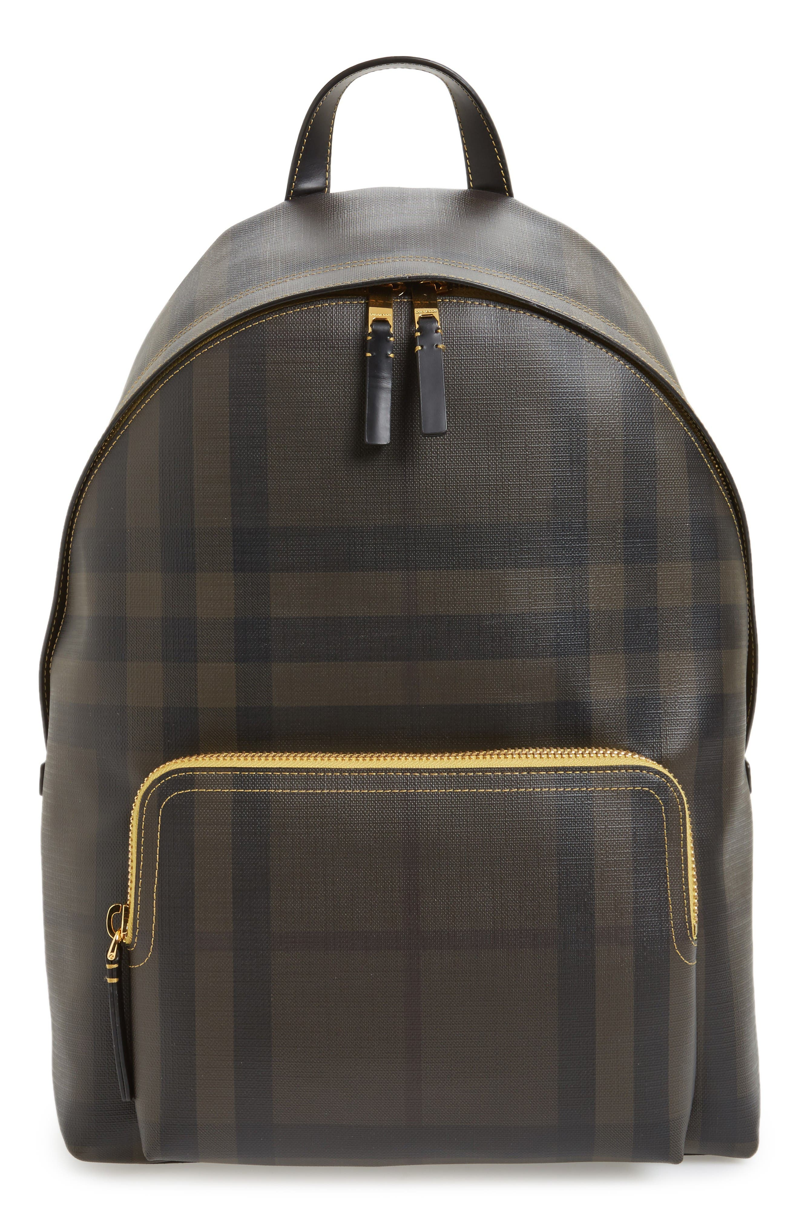 Burberry Abbeydale Check Backpack