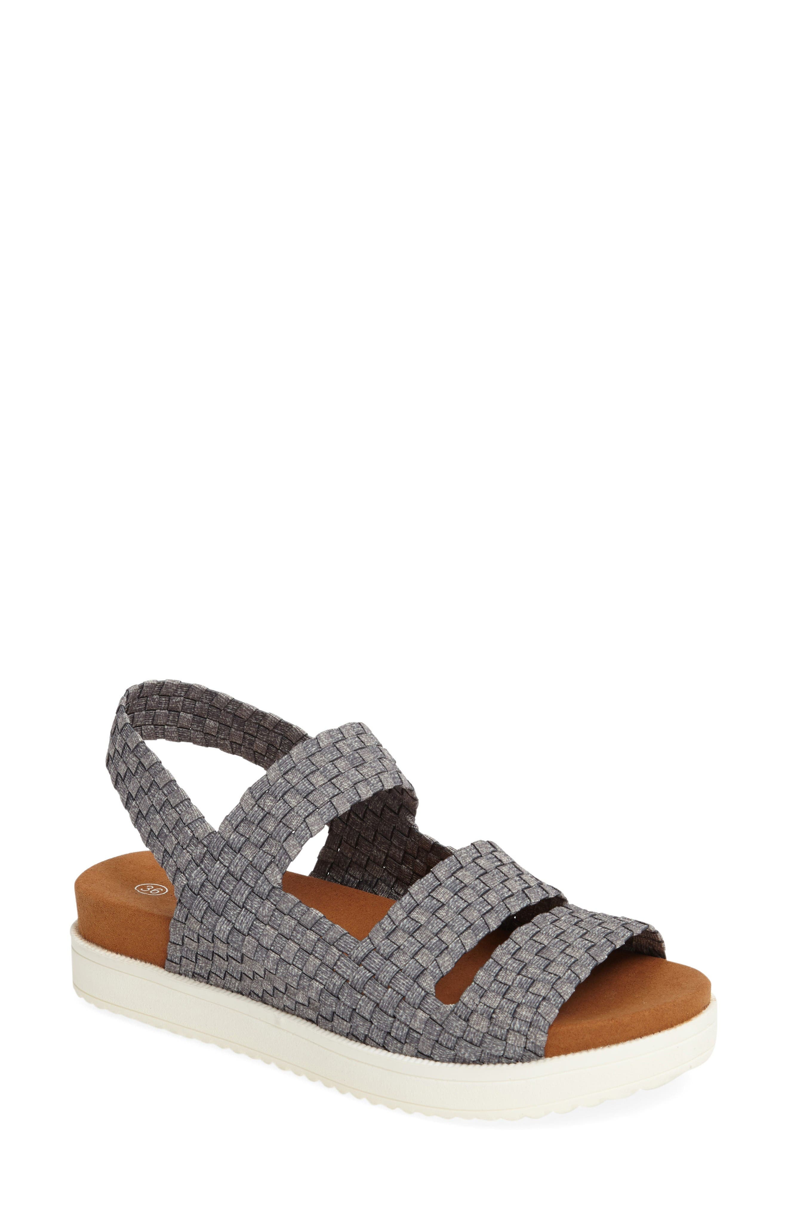 Bernie Mev Women's 'Crisp' Woven Platform Sandal owg7ZXfR6