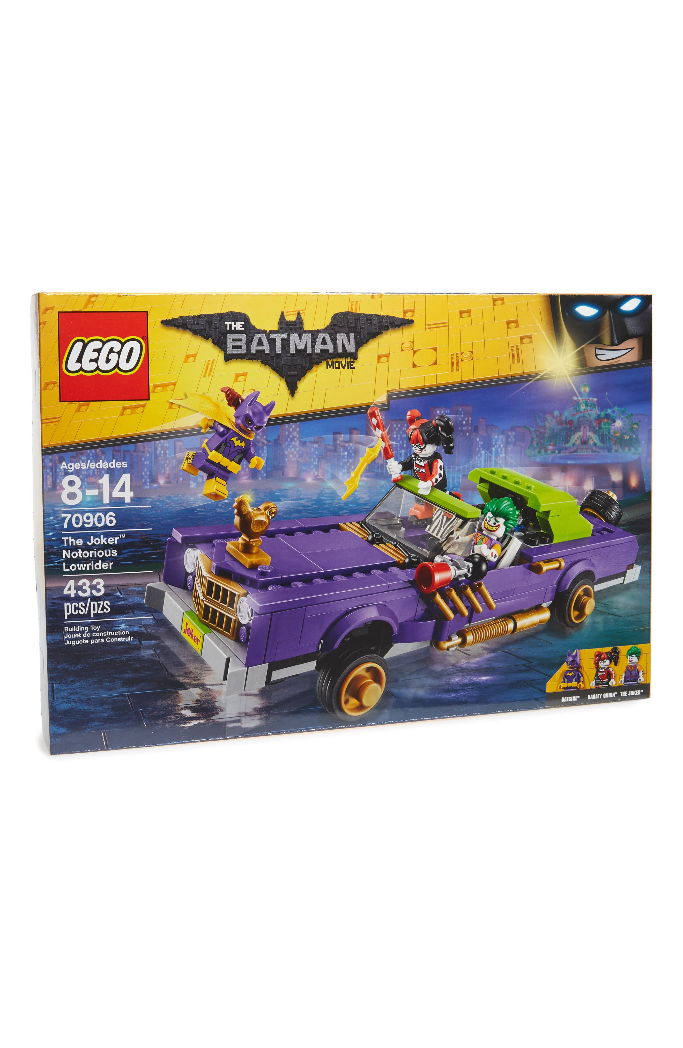 The Batman Movie<sup>™</sup> The Joker<sup>™</sup> Notorious Lowrider – 70906,                         Main,                         color, Yellow