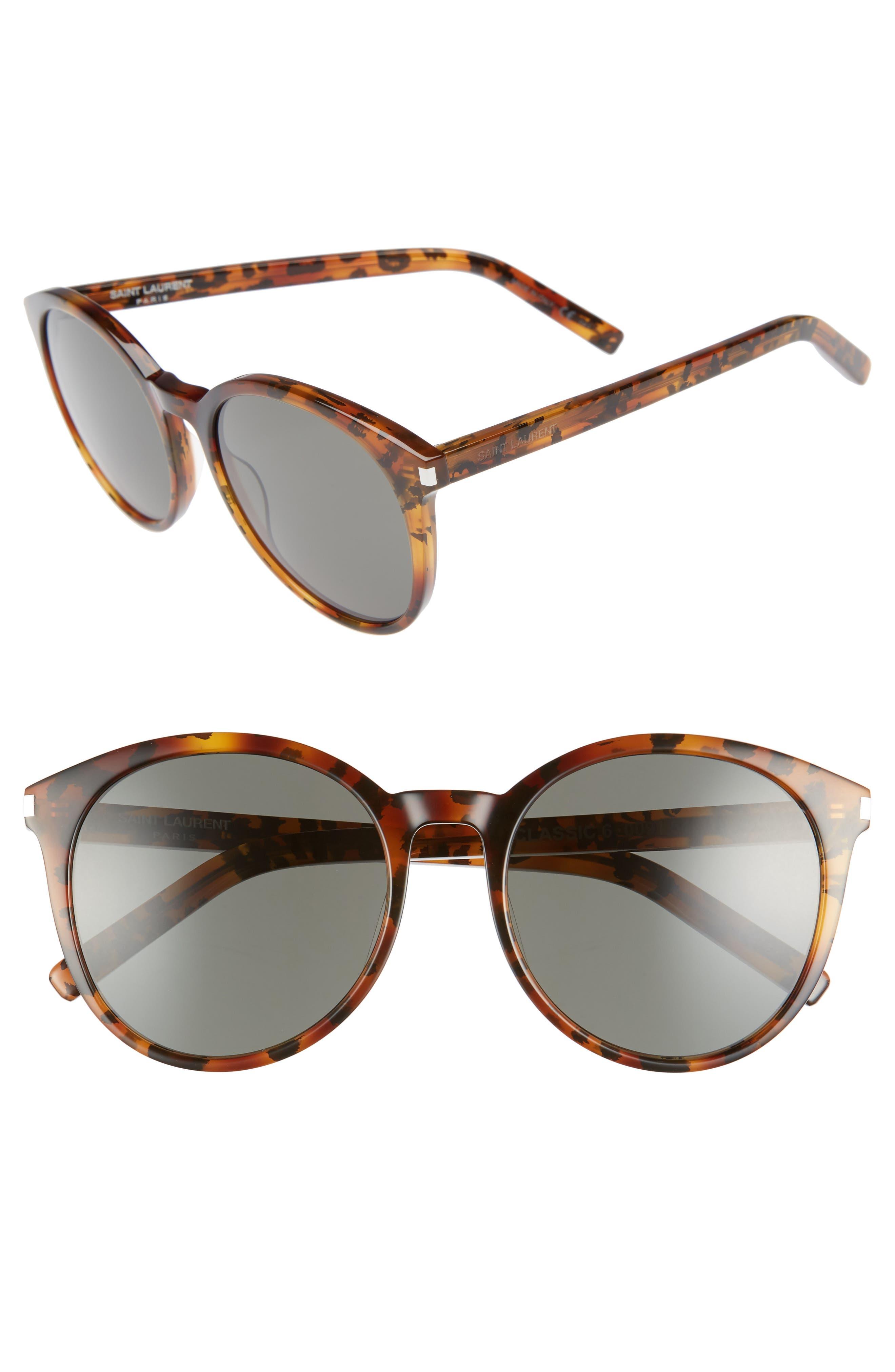 'Classic' 54mm Sunglasses,                         Main,                         color, Tortoise/ Grey