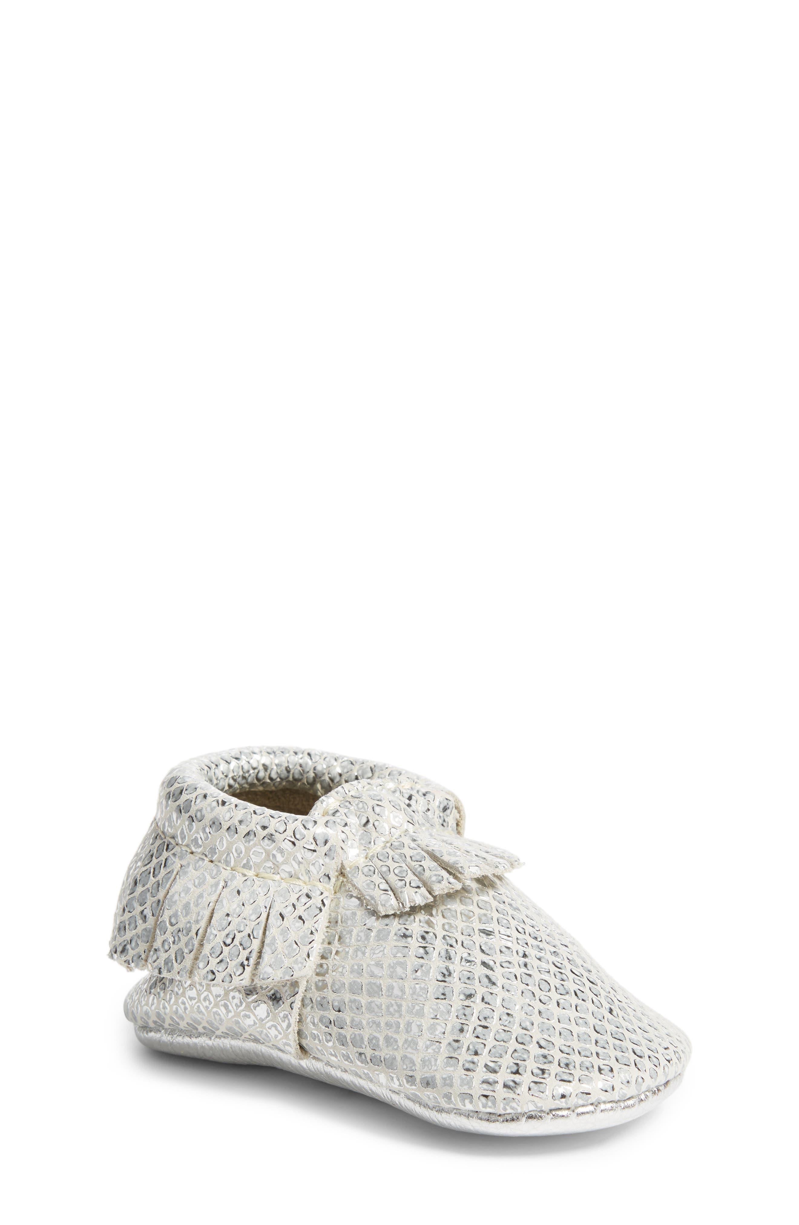 Alternate Image 1 Selected - Freshly Picked Fashion Week Mocassin (Baby & Walker)