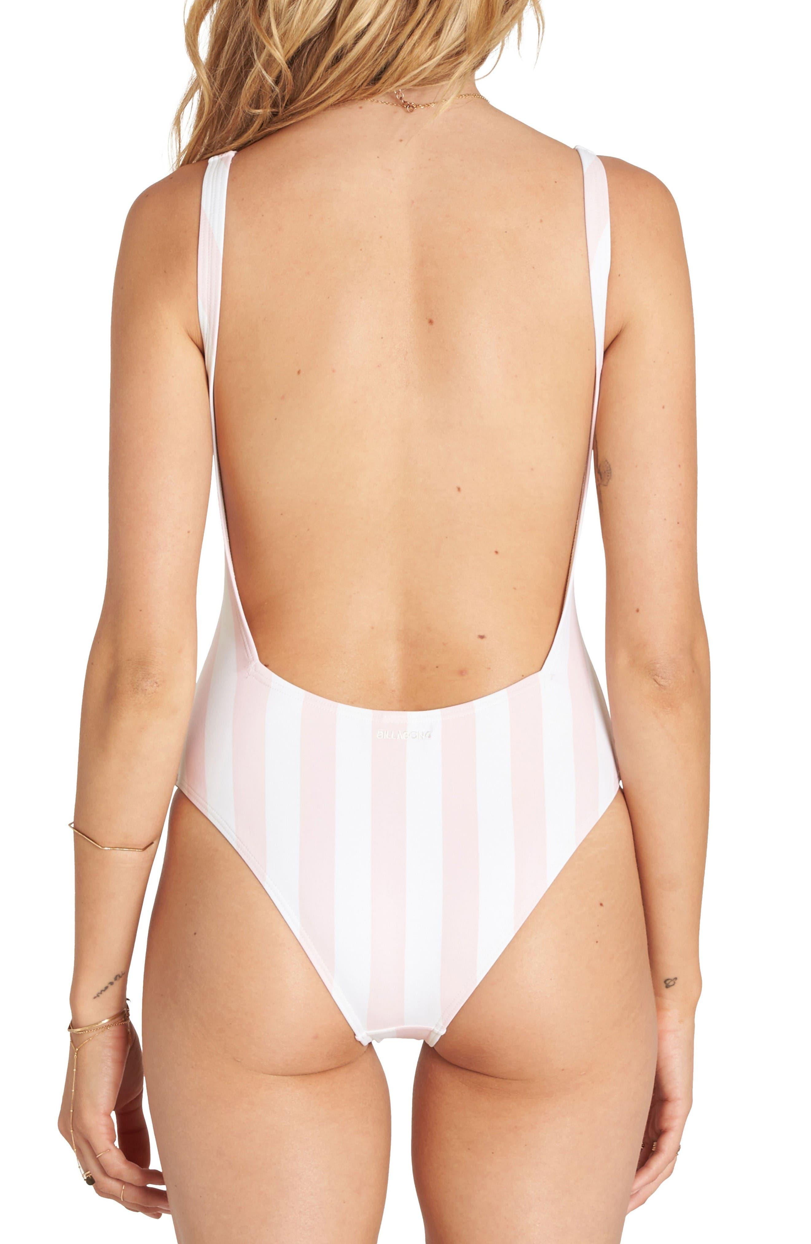 Alternate Image 2  - Billabong No Worries One-Piece Swimsuit