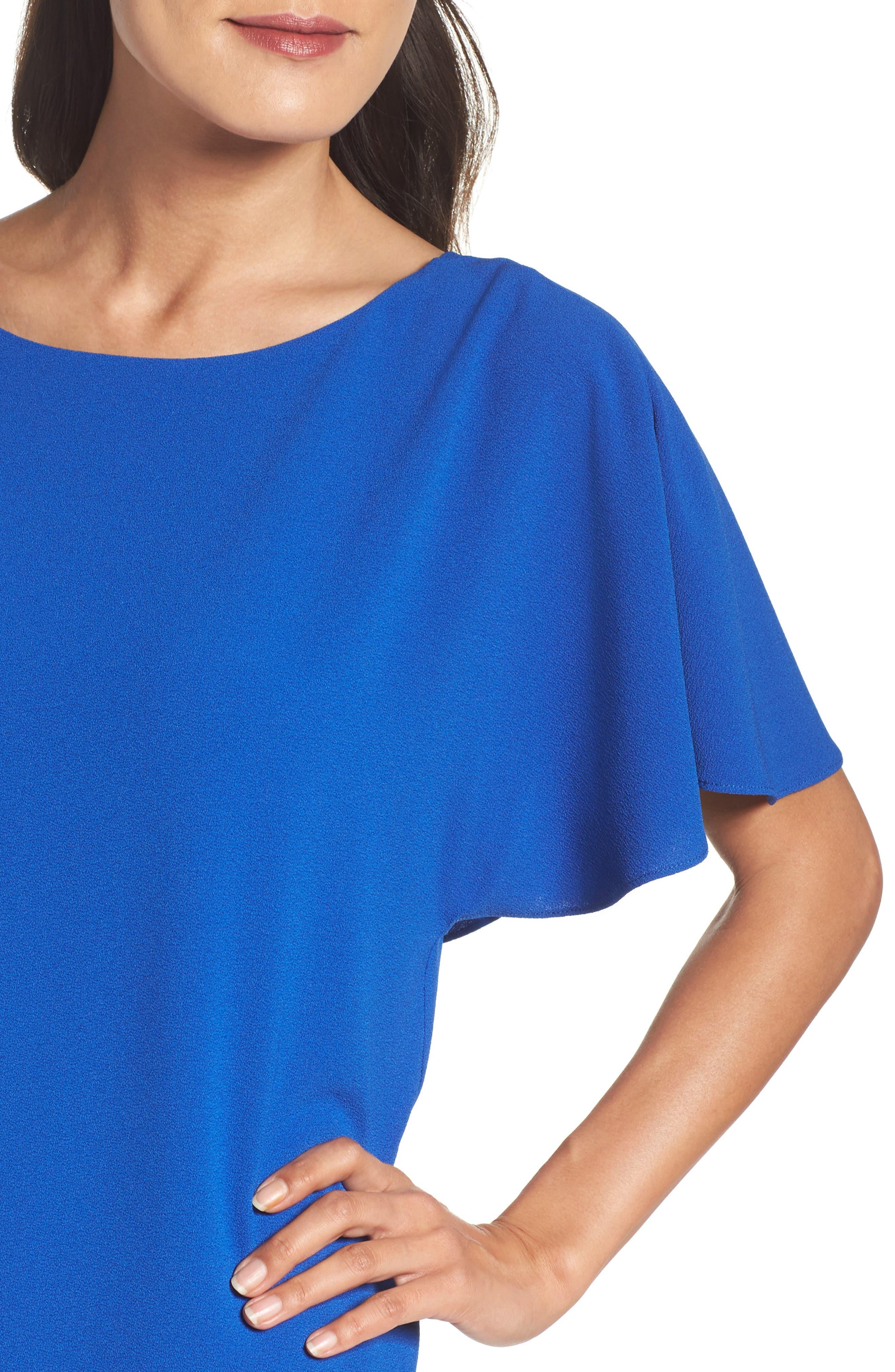 Alternate Image 5  - Felicity & Coco Talia Ruffle Back Shift Dress (Nordstrom Exclusive)