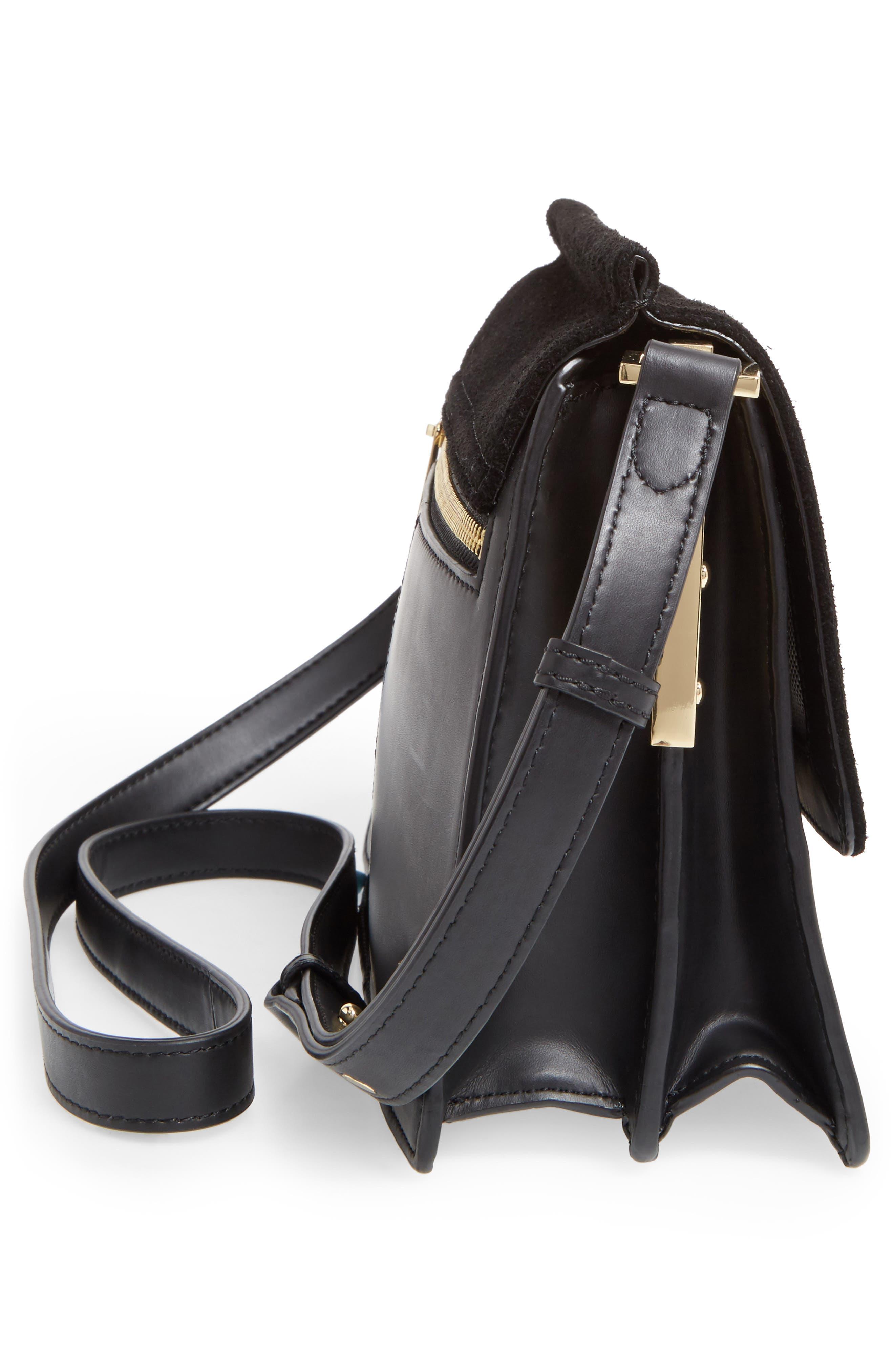 Alternate Image 4  - Vince Camuto 'Abril' Leather Shoulder Bag