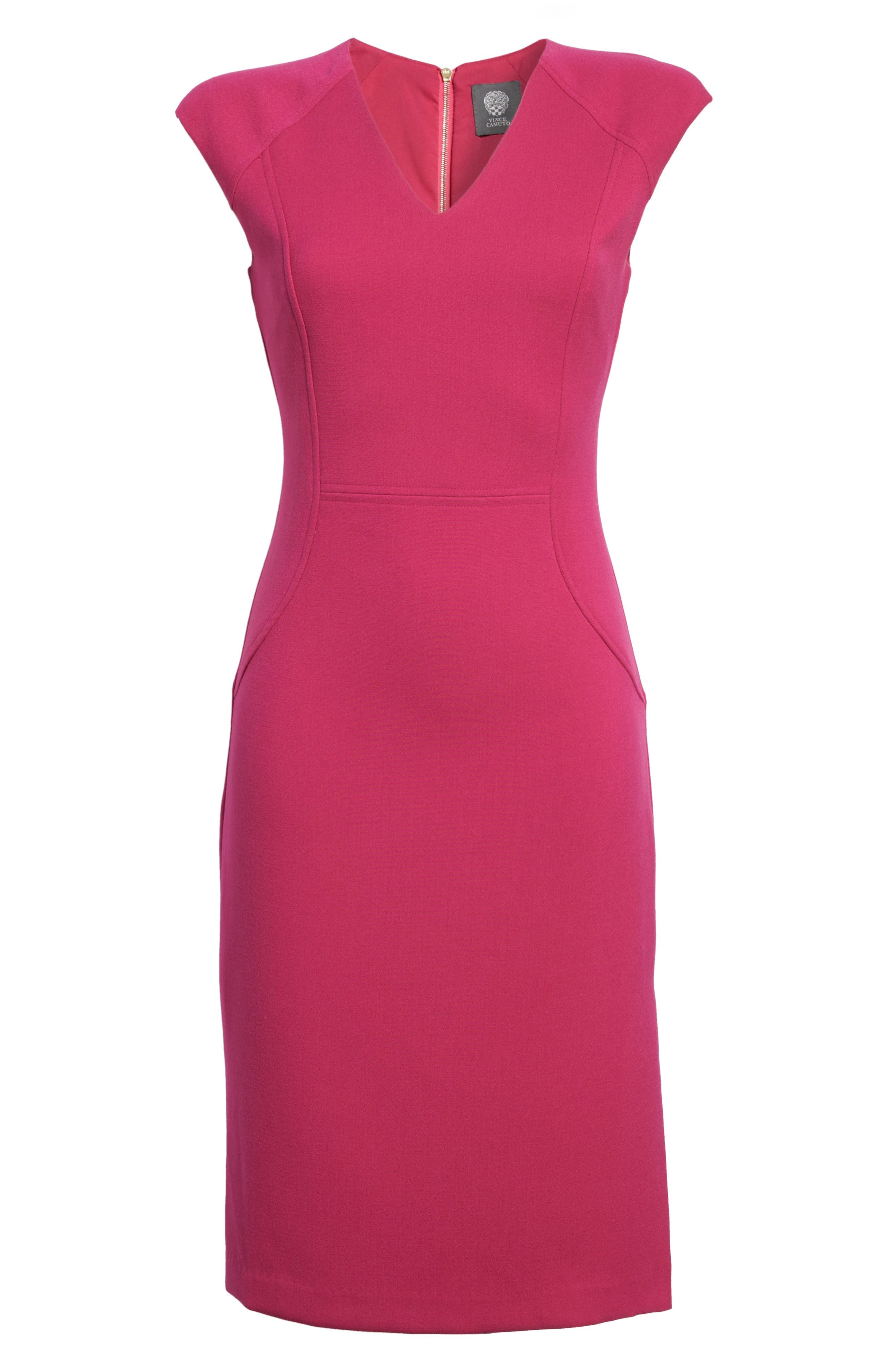 Alternate Image 6  - Vince Camuto Body-Con Dress