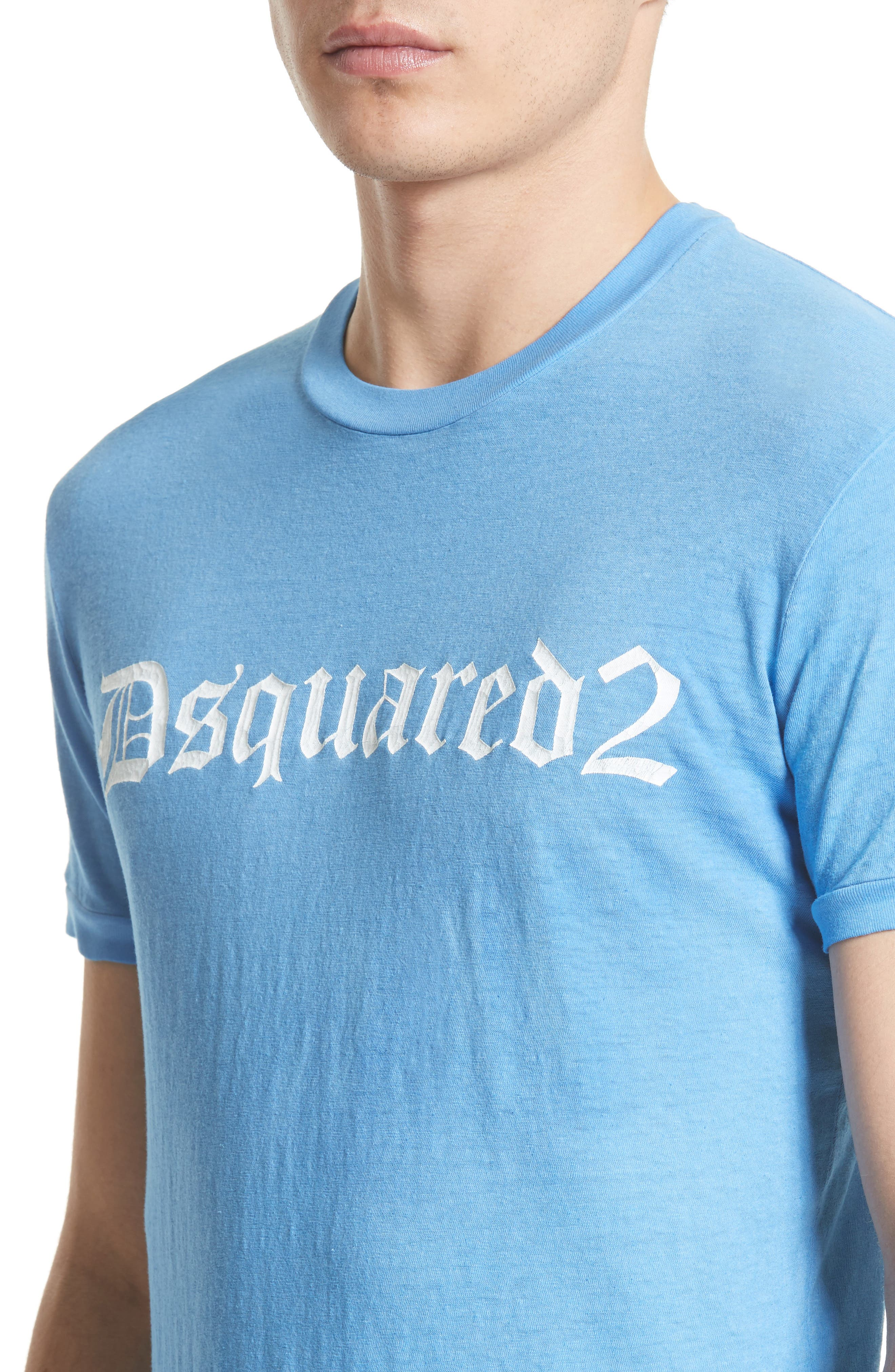 Alternate Image 4  - Dquared2 Cotton T-Shirt