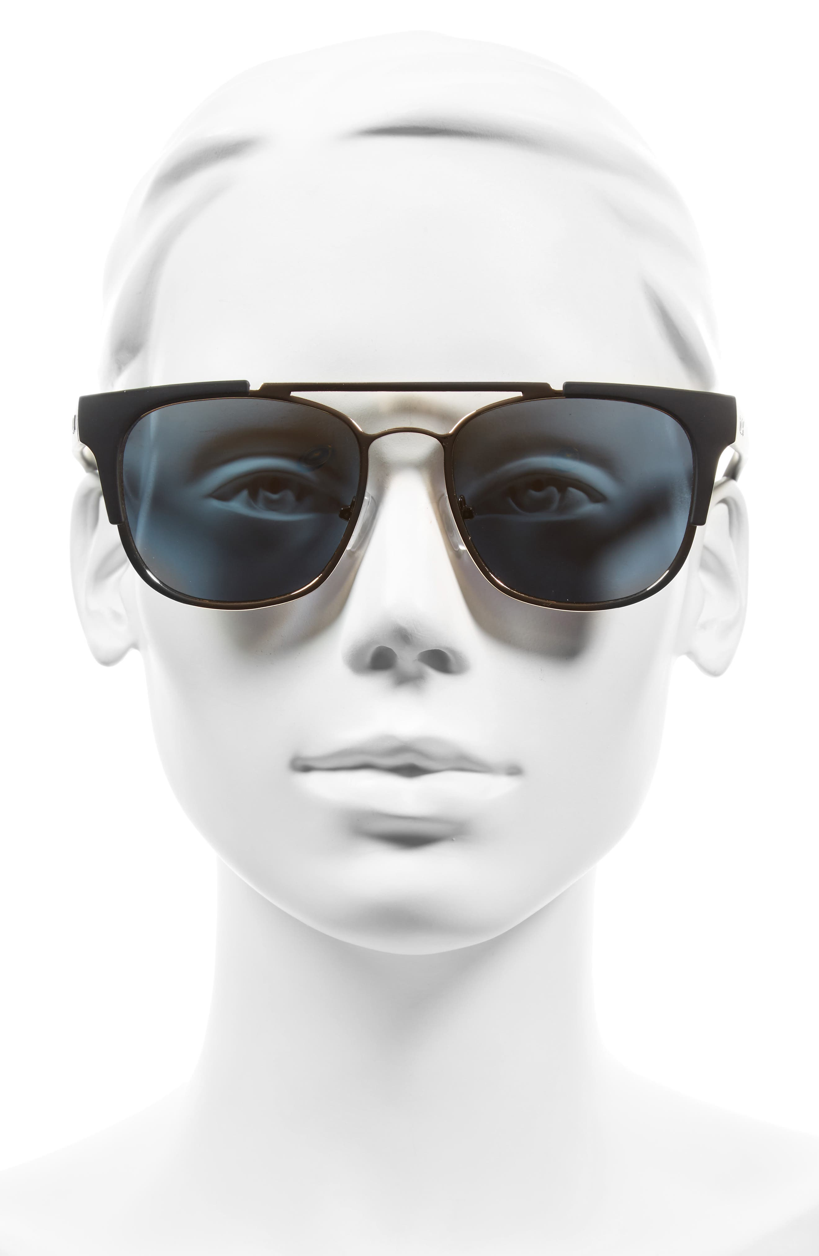 Alternate Image 2  - Quay Australia High & Dry 53mm Mirrored Sunglasses