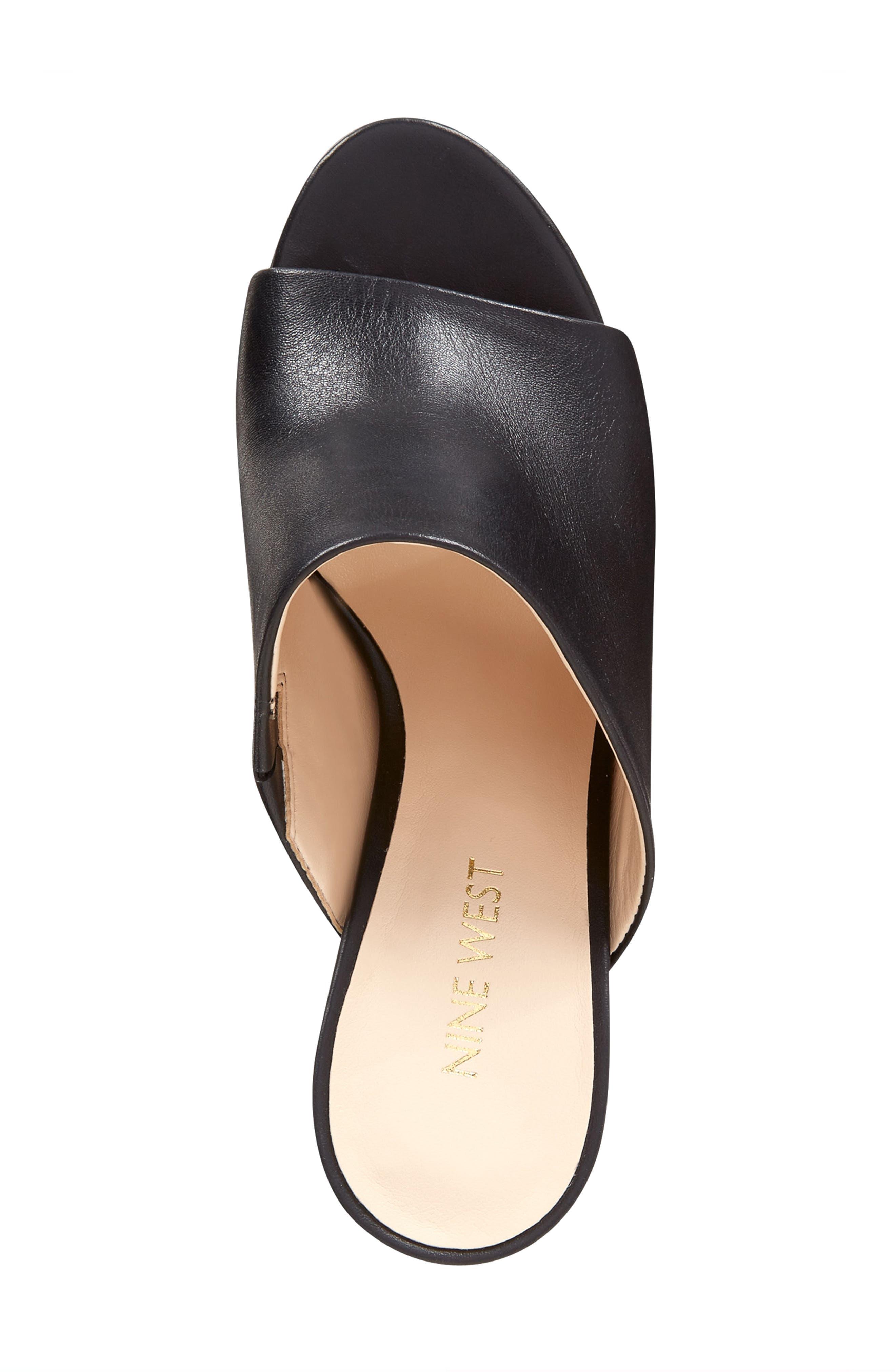 Alternate Image 3  - Nine West Gemily Block Heel Slide Sandal (Women)
