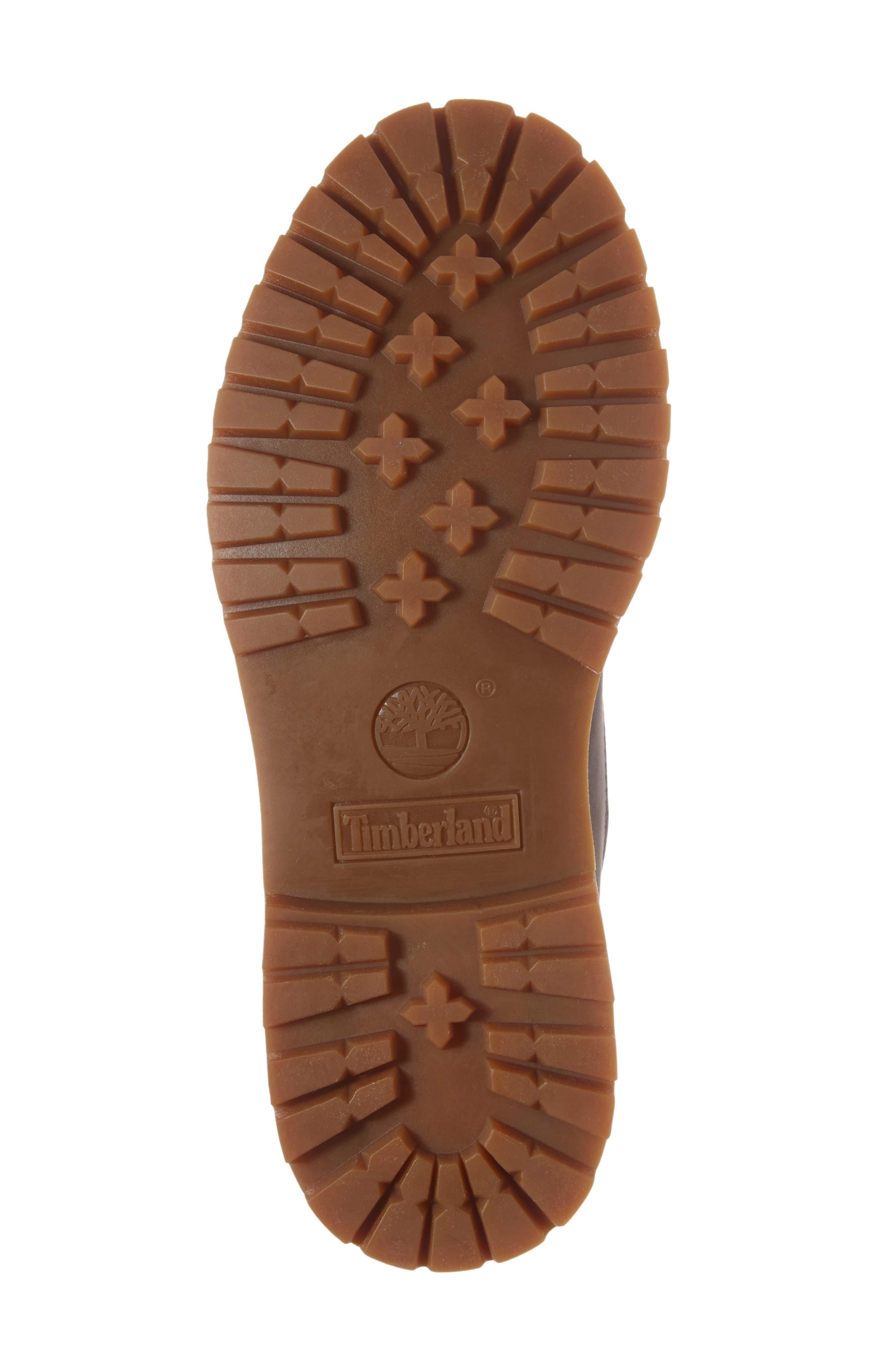 6-Inch Premium Embossed Waterproof Boot,                             Alternate thumbnail 6, color,                             Eiffel Tower Nubuck