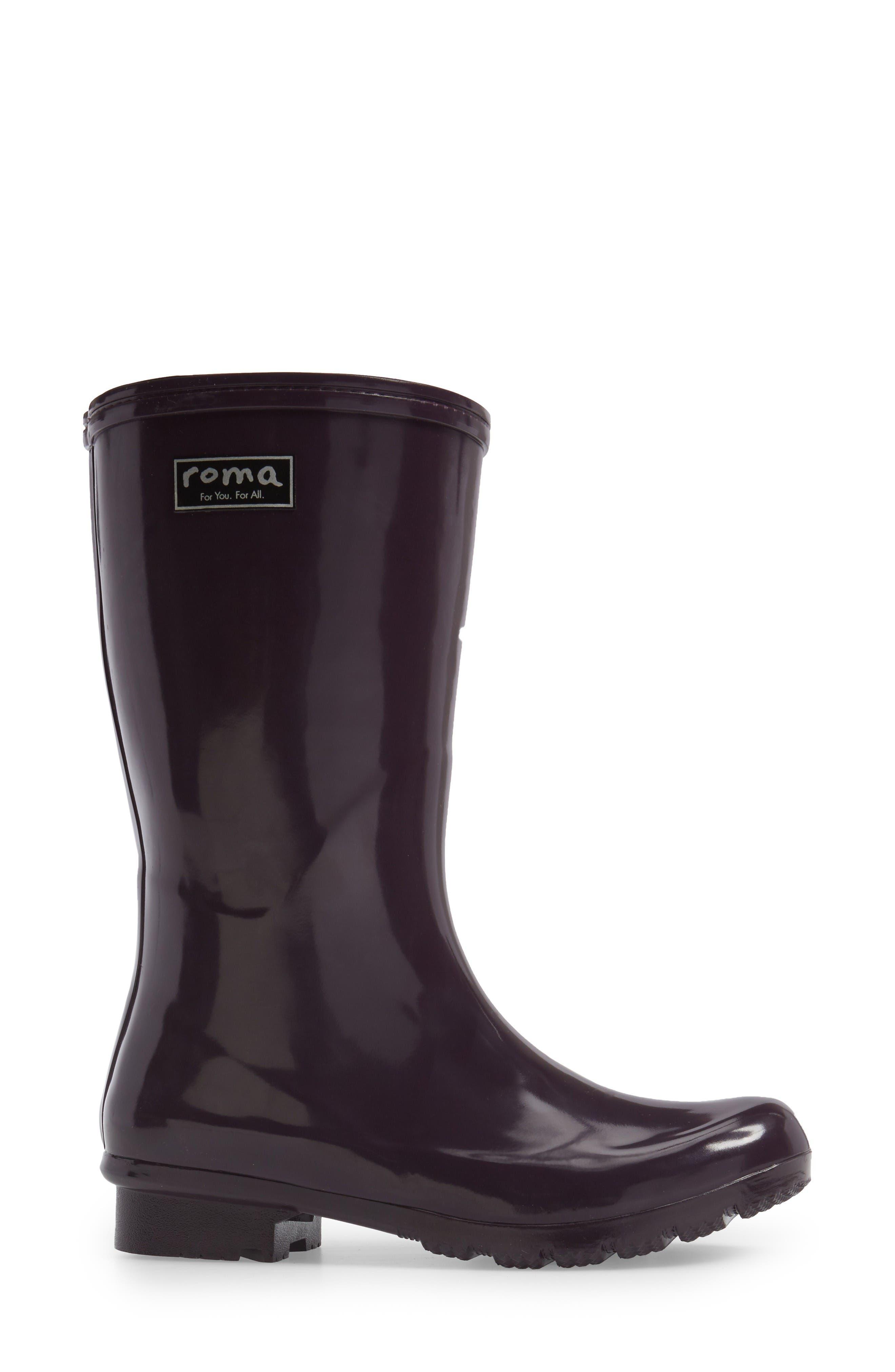 Alternate Image 3  - roma Short Rain Boot (Women)