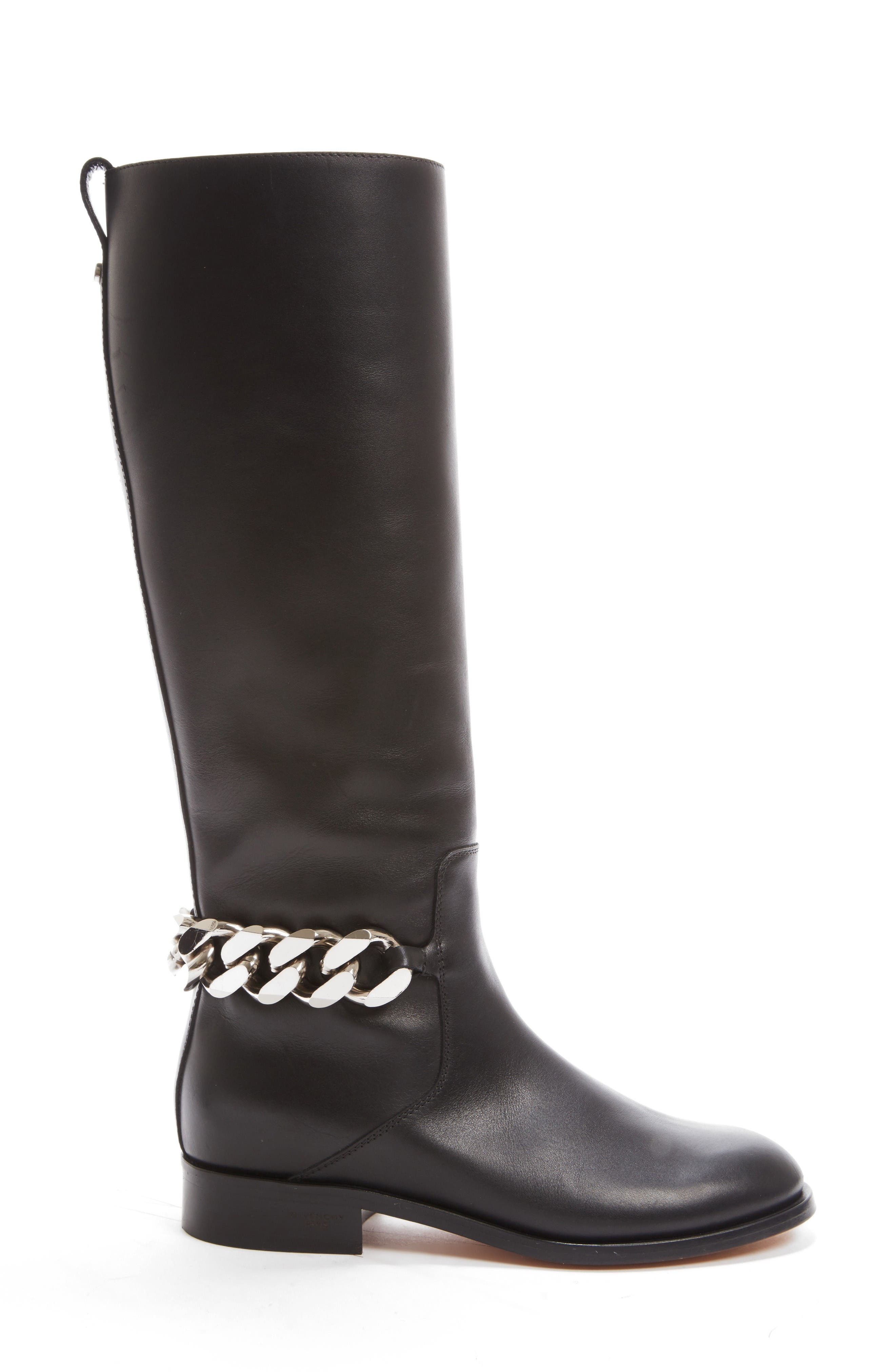 Alternate Image 4  - Givenchy Chain Tall Boot (Women)