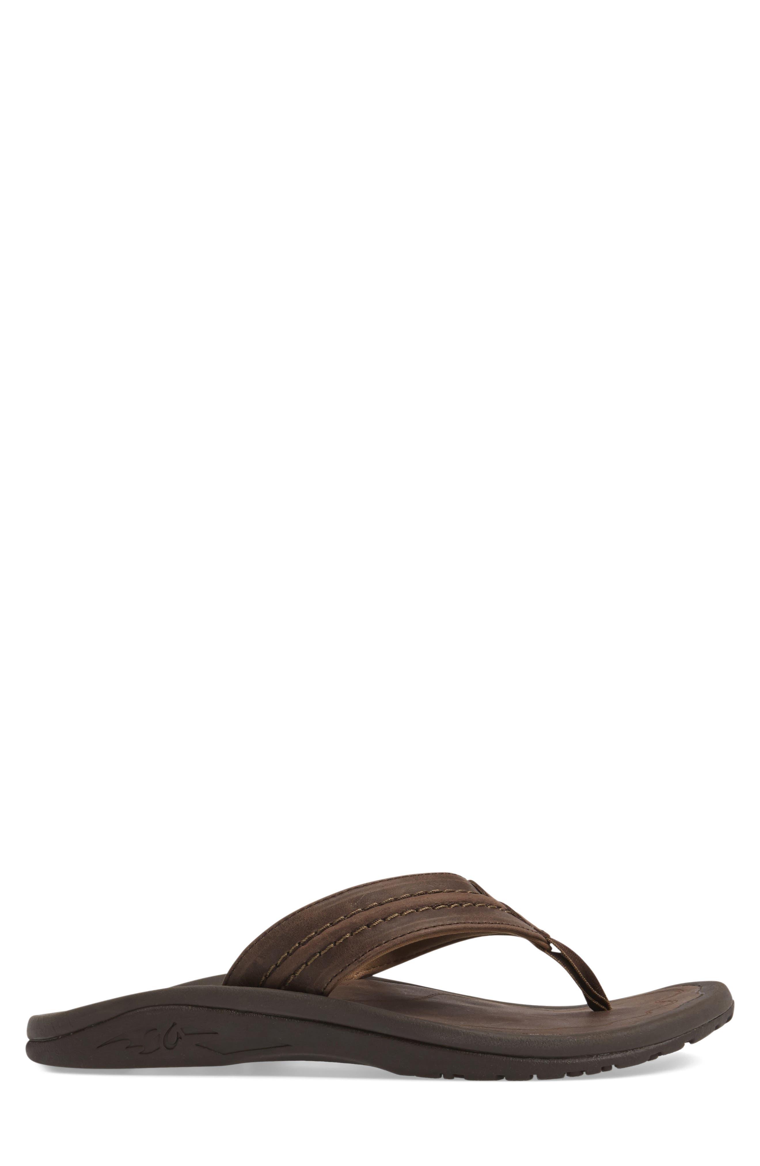 Alternate Image 3  - OluKai Hokua Flip Flop (Men)