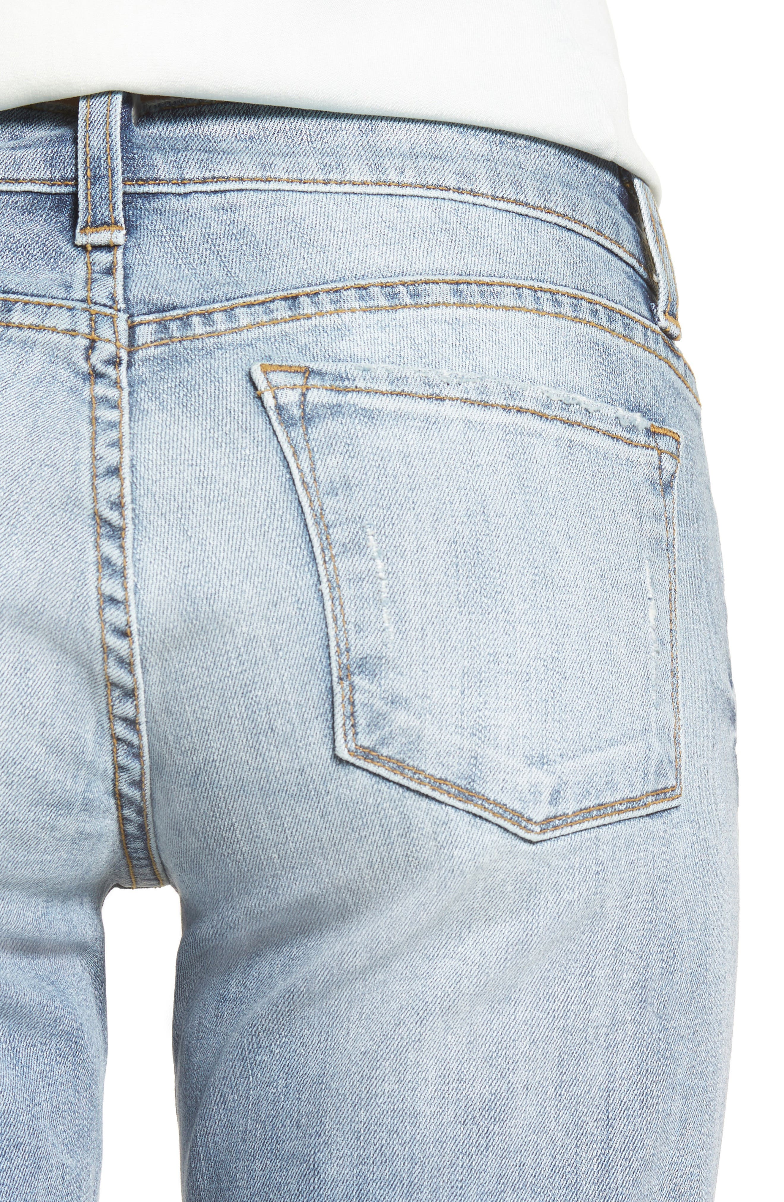 Alternate Image 4  - KUT from the Kloth Catherine Distressed Boyfriend Jeans (Regarded) (Regular & Petite)