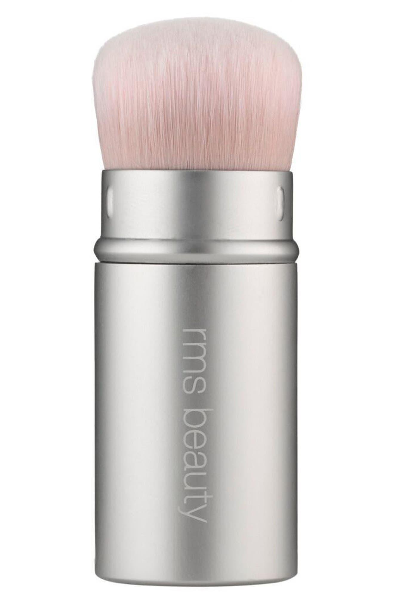RMS Beauty Kabuki Polisher Retractable Brush