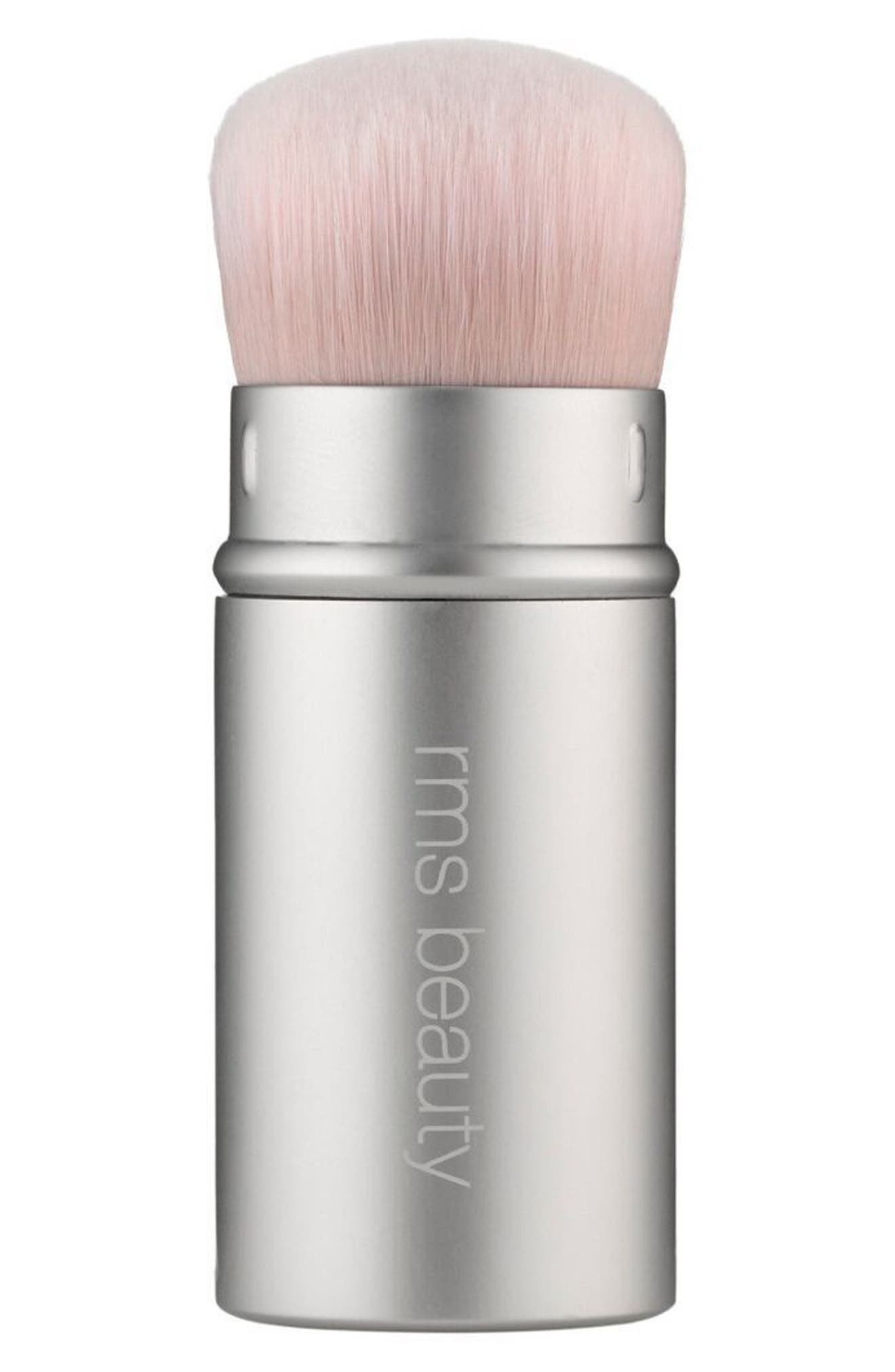 RMS Beauty Kabuki Polisher Retractable Brush
